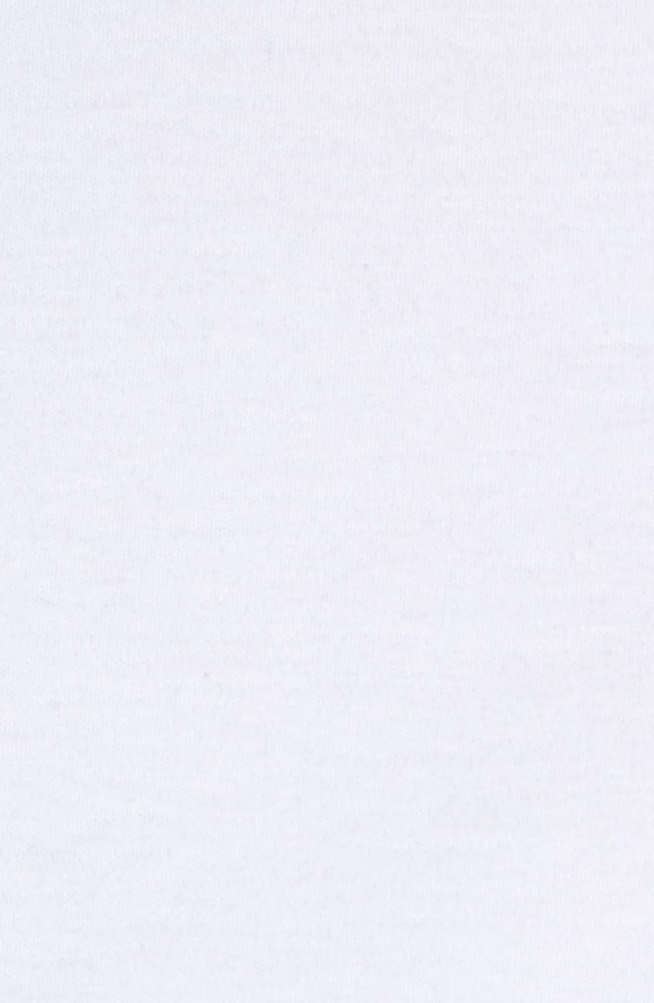 Poplin Mix Tie Waist Bustier Top,                             Alternate thumbnail 5, color,                             White