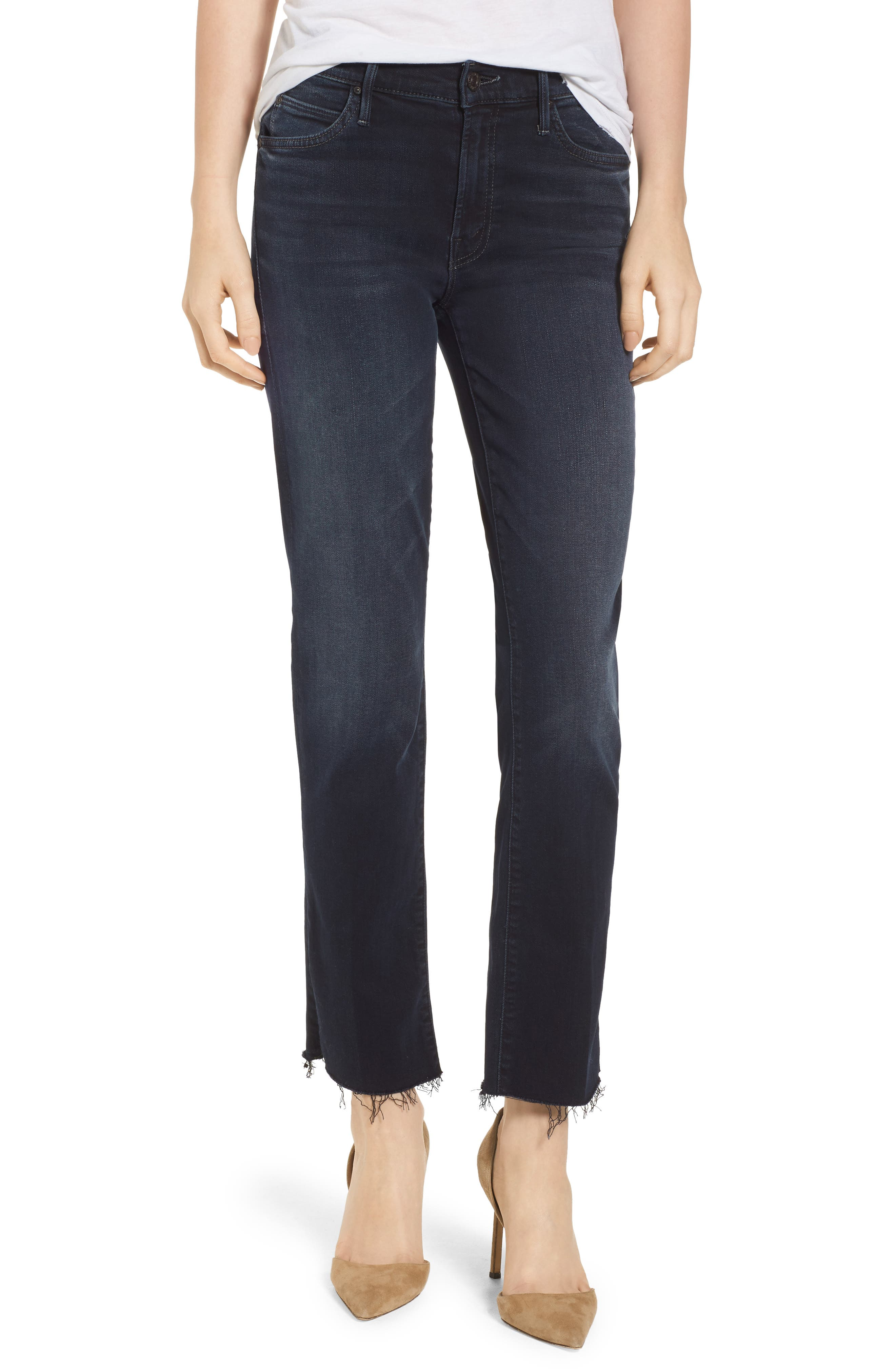 The Rascal Ankle Straight Leg Jeans,                             Main thumbnail 1, color,                             Last Call