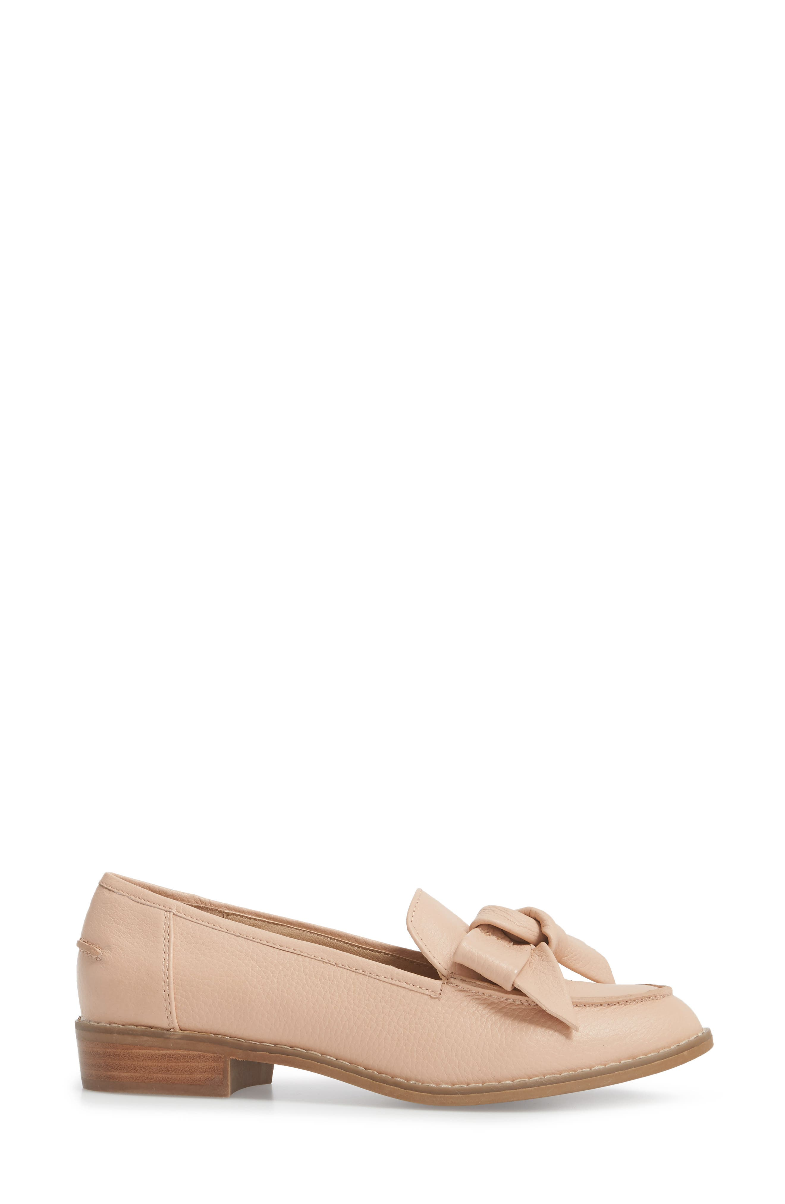 Beaux Loafer,                             Alternate thumbnail 3, color,                             Blush