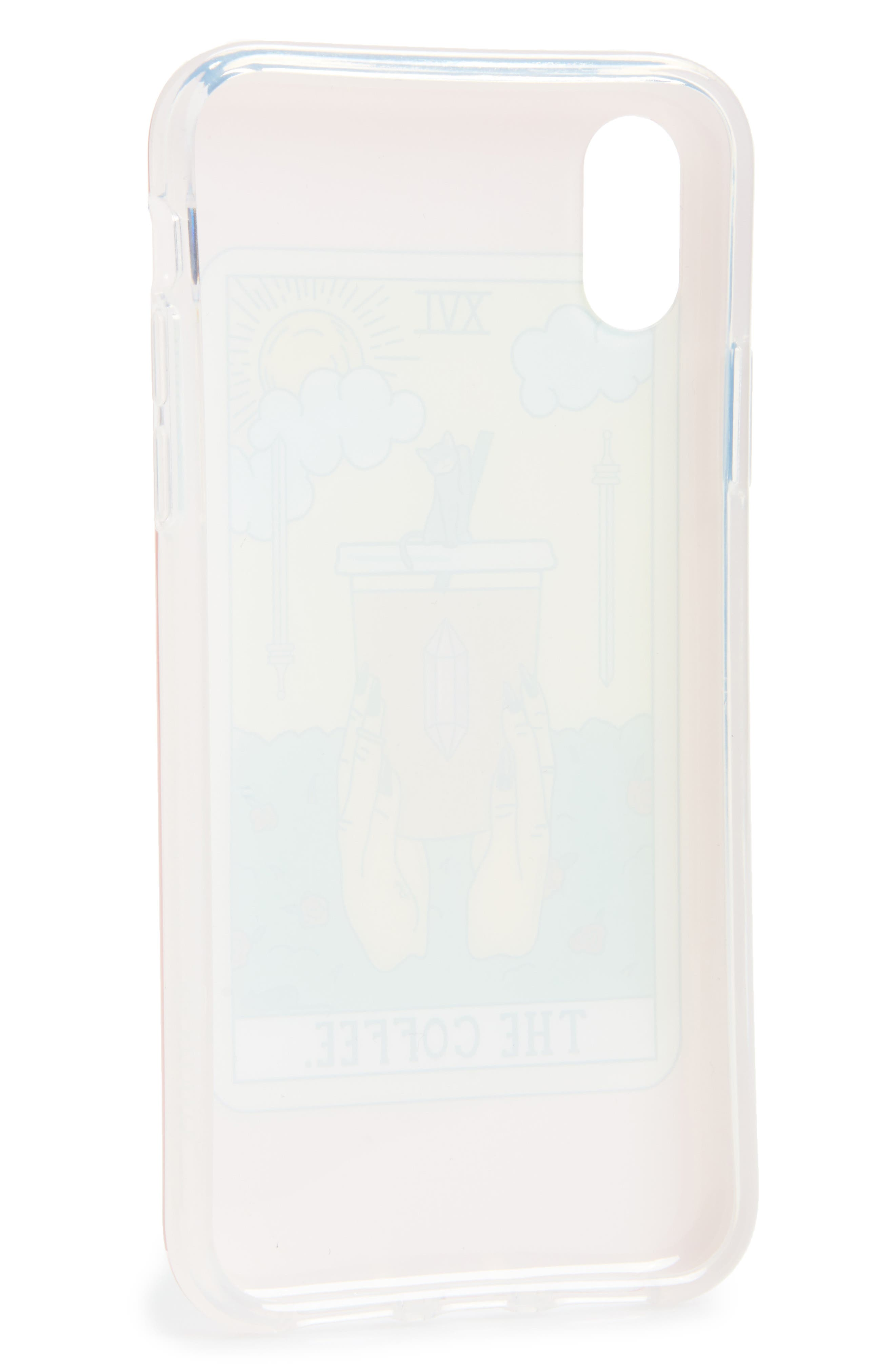 The Coffee iPhone X Case,                             Alternate thumbnail 2, color,                             Multi
