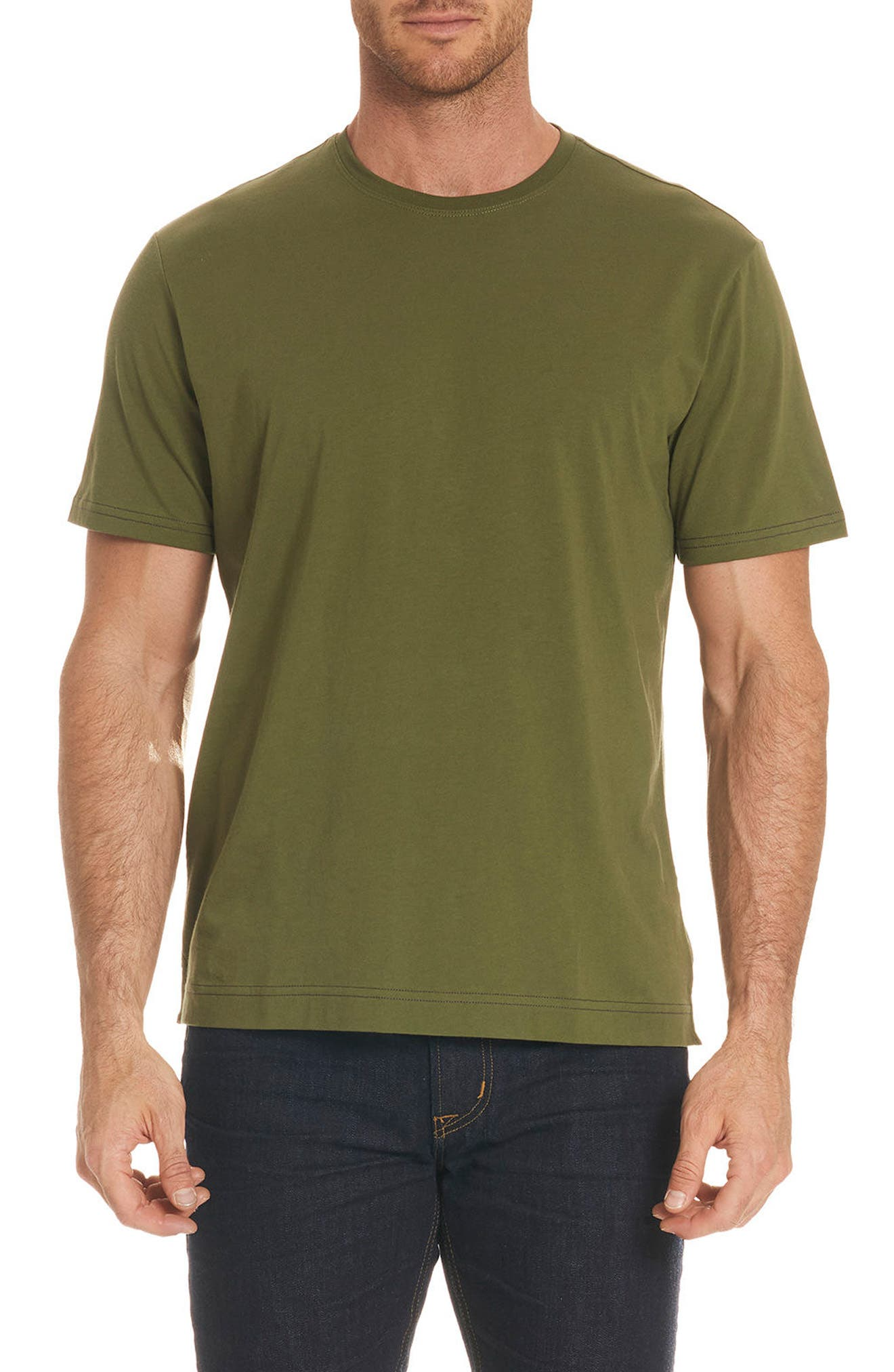Neo T-Shirt,                         Main,                         color, Olive