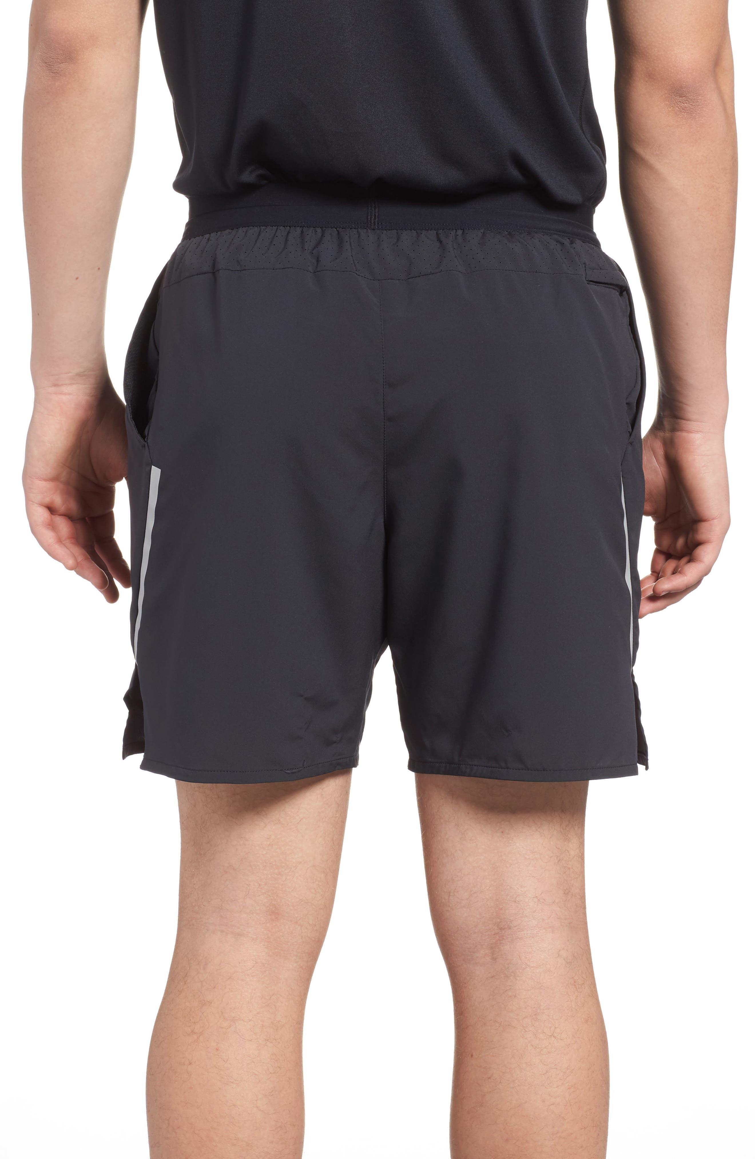 Flex Distance Shorts,                             Alternate thumbnail 2, color,                             Black/ Black