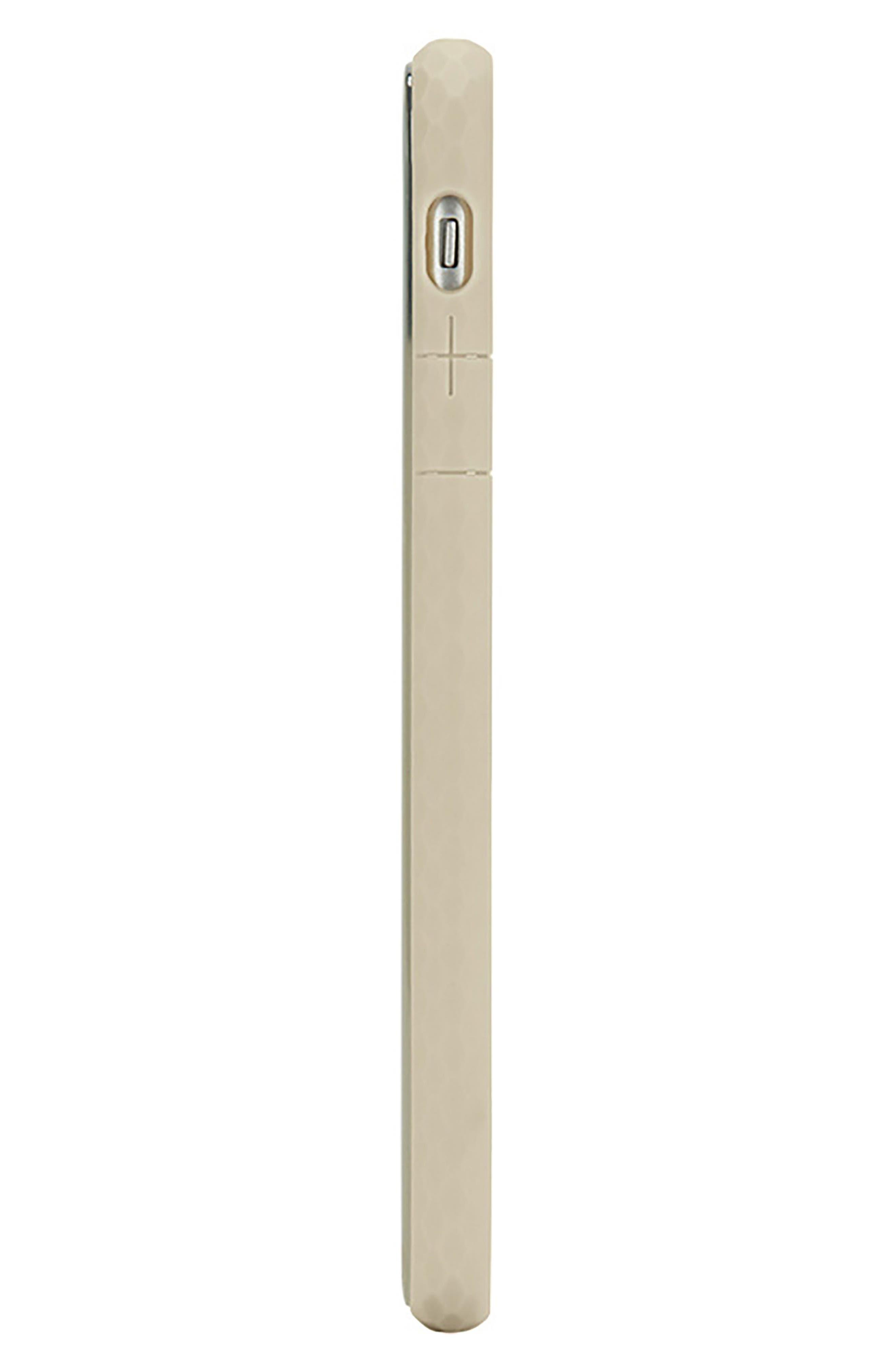 Pop iPhone X Case,                             Alternate thumbnail 4, color,                             Gold