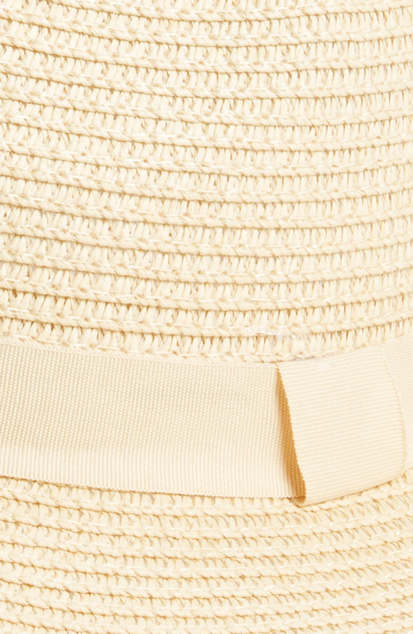 Frayed Edge Fedora,                             Alternate thumbnail 2, color,                             Natural