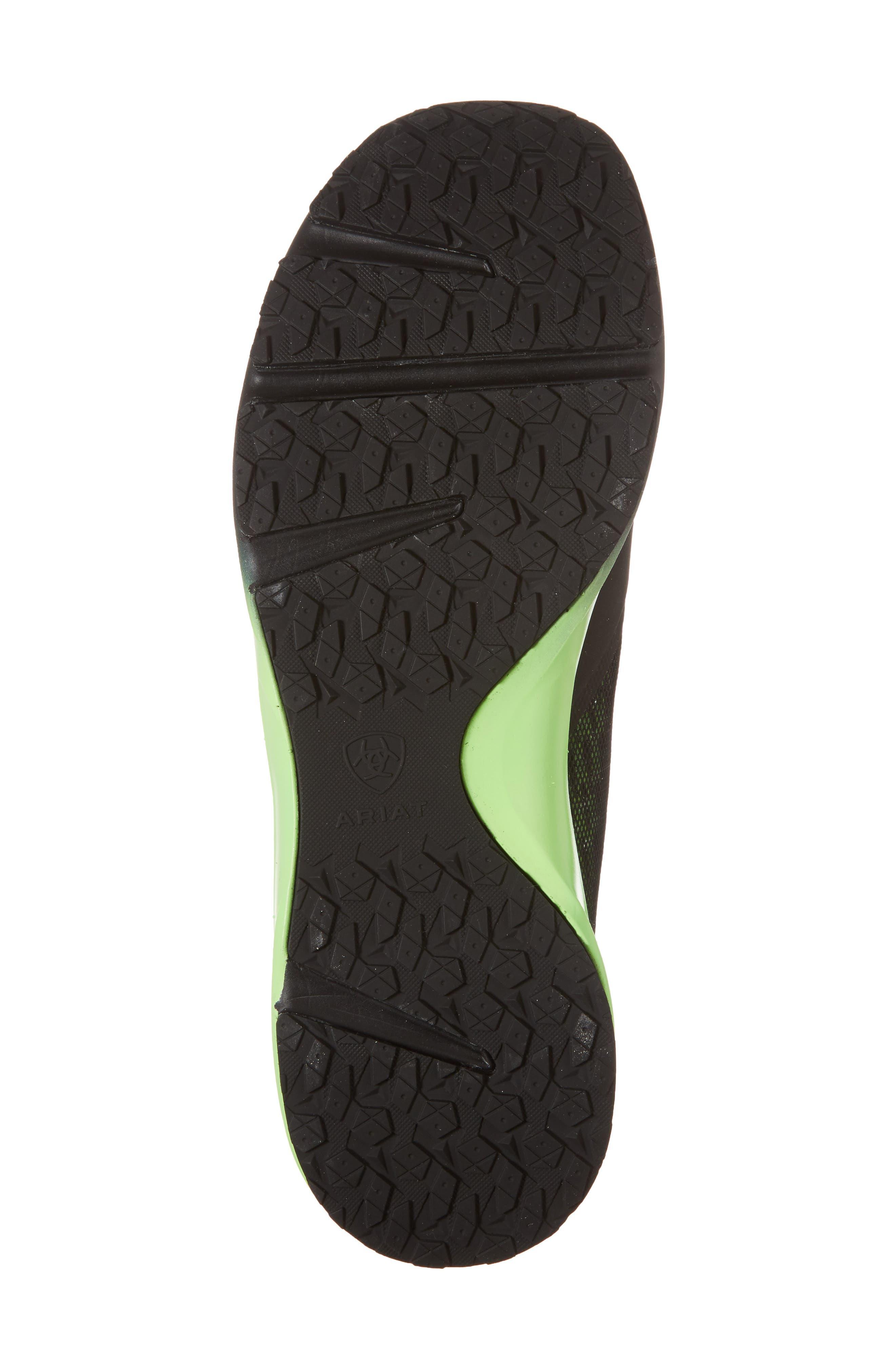 Fuse Ombré Sneaker,                             Alternate thumbnail 6, color,                             Black Ombre