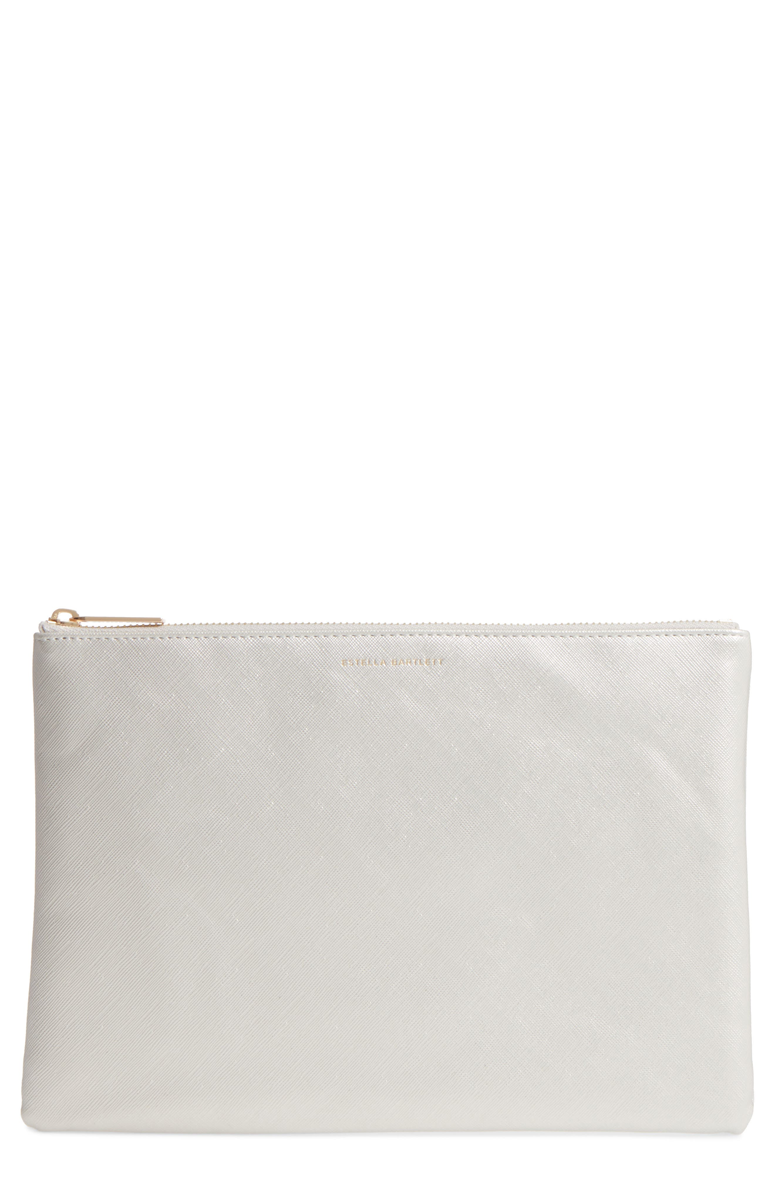 Main Image - Estella Bartlett No Reason Not To Follow Faux Leather Pouch