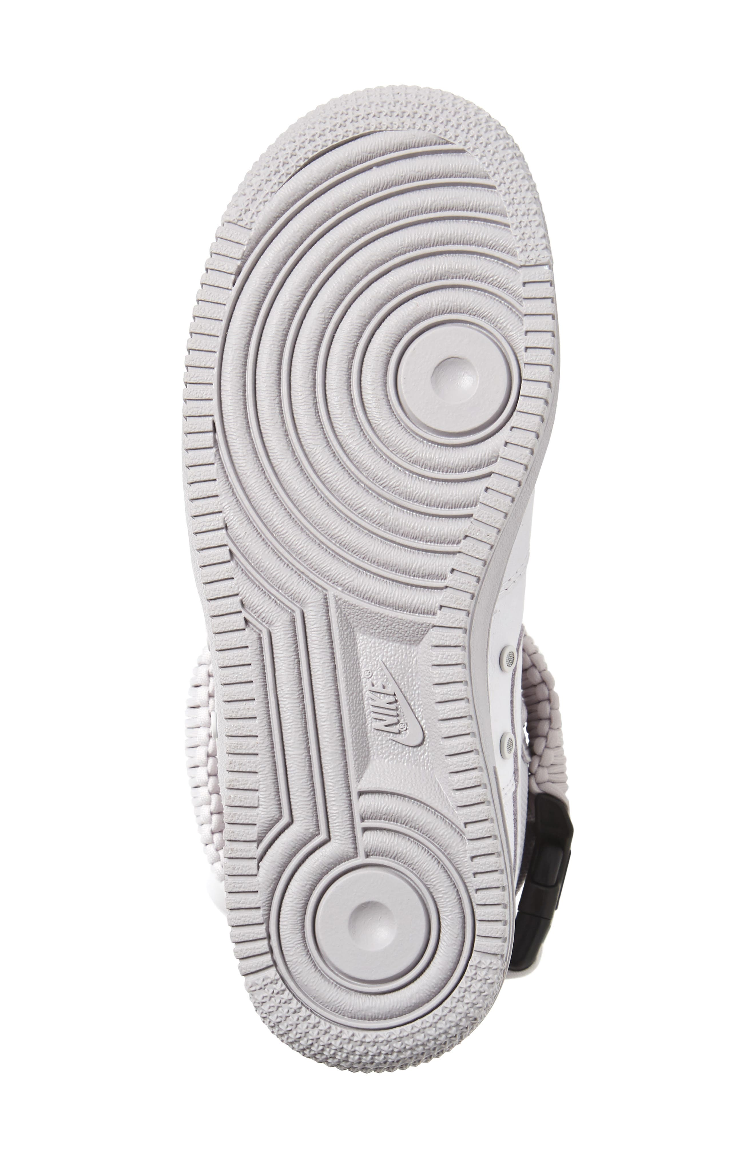 SF Air Force 1 High Top Sneaker,                             Alternate thumbnail 6, color,                             Vast Grey/ Vast Grey