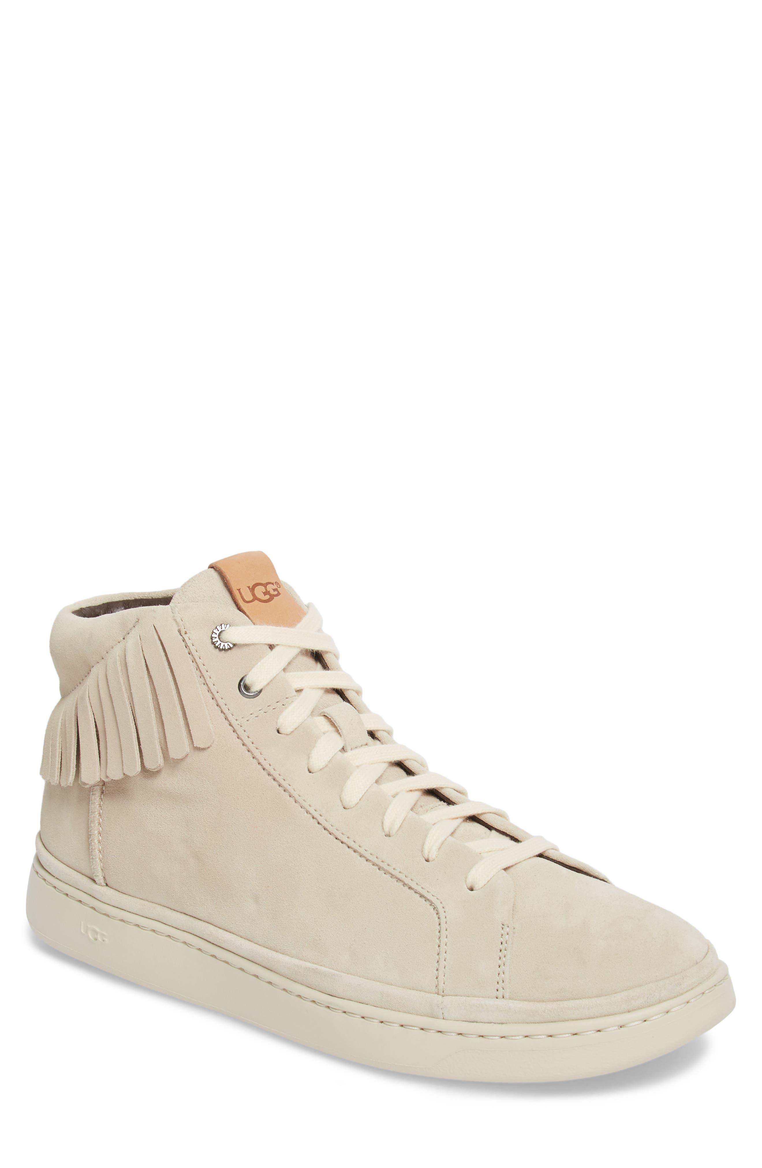 UGG® Brecken Fringe High-Top Sneaker (Men)