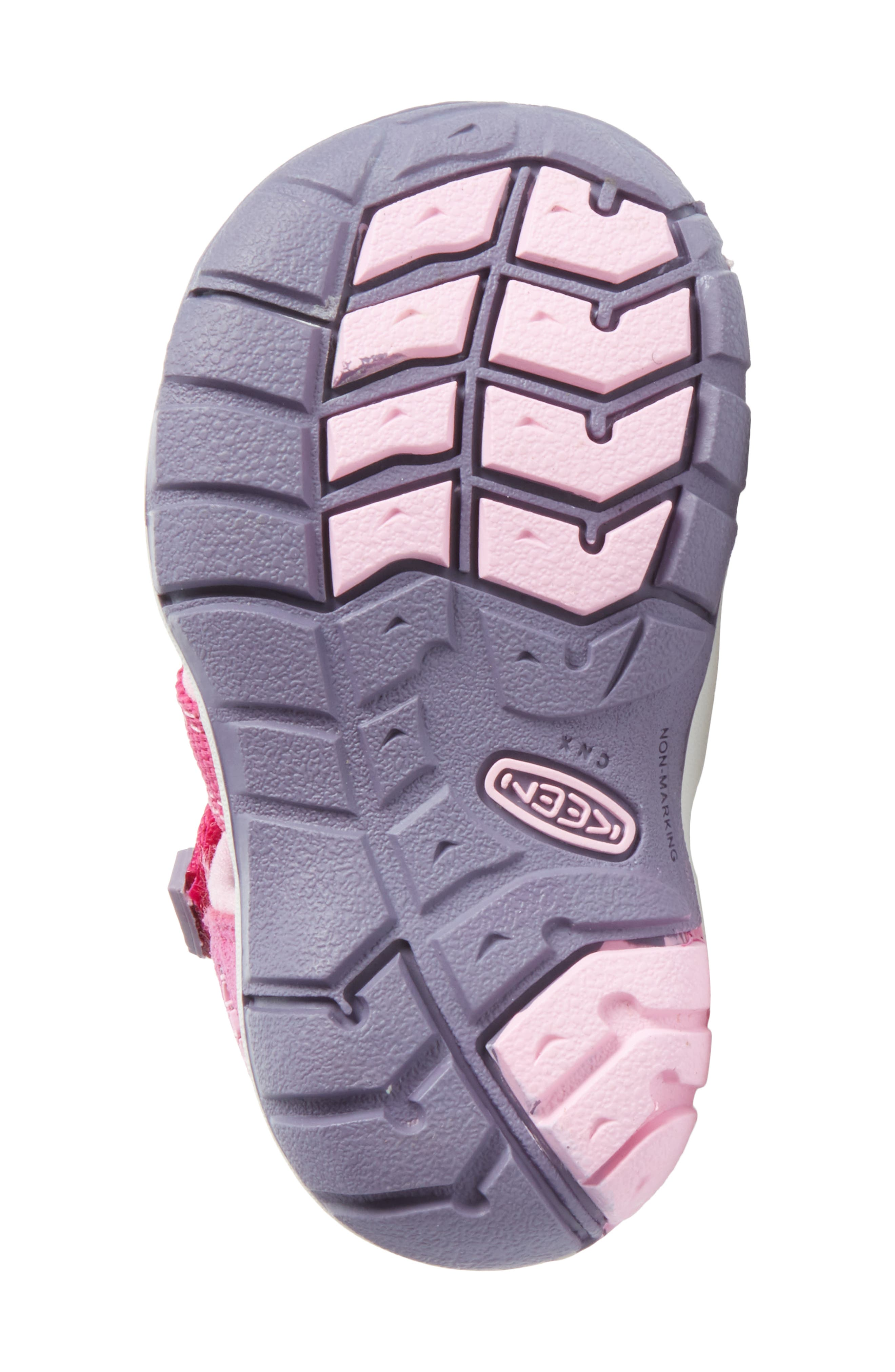 'Seacamp II' Water Friendly Sandal,                             Alternate thumbnail 6, color,                             Very Berry/ Lilac Chiffon