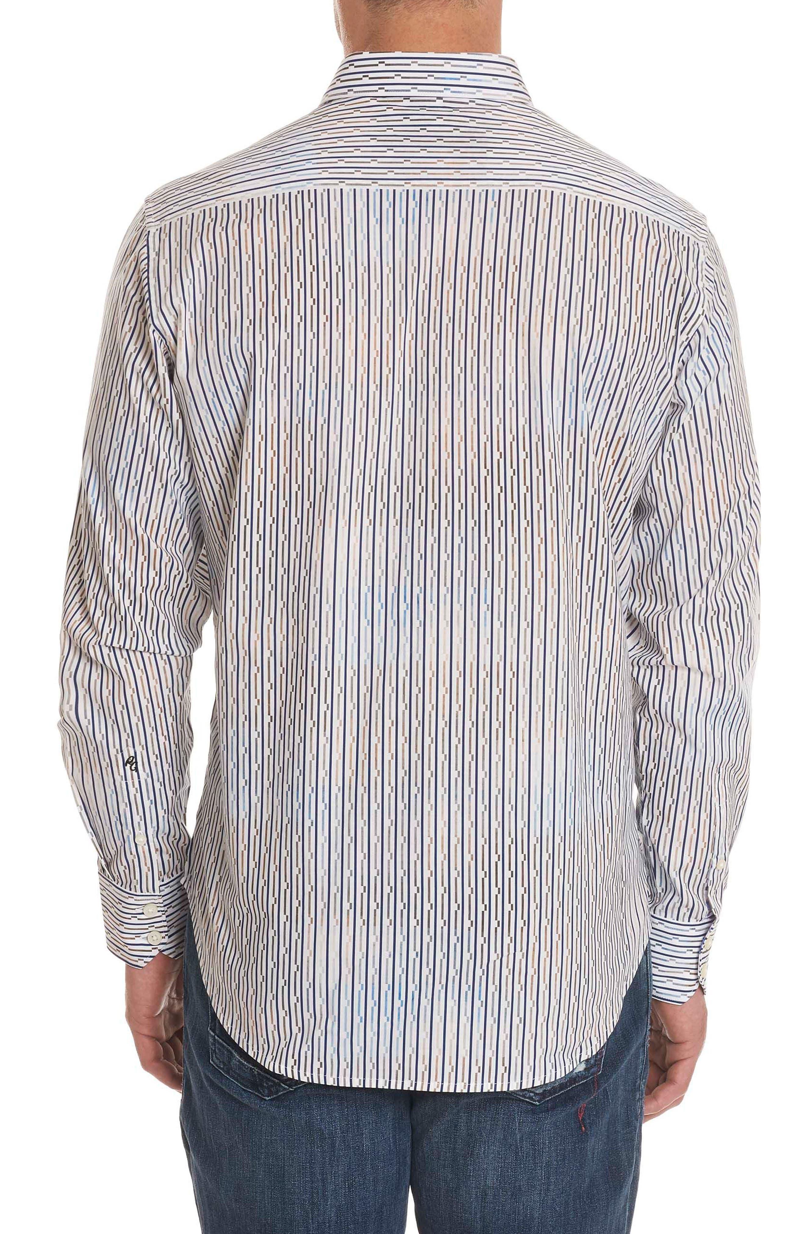 Trinidad Classic Fit Sport Shirt,                             Alternate thumbnail 2, color,                             Multi