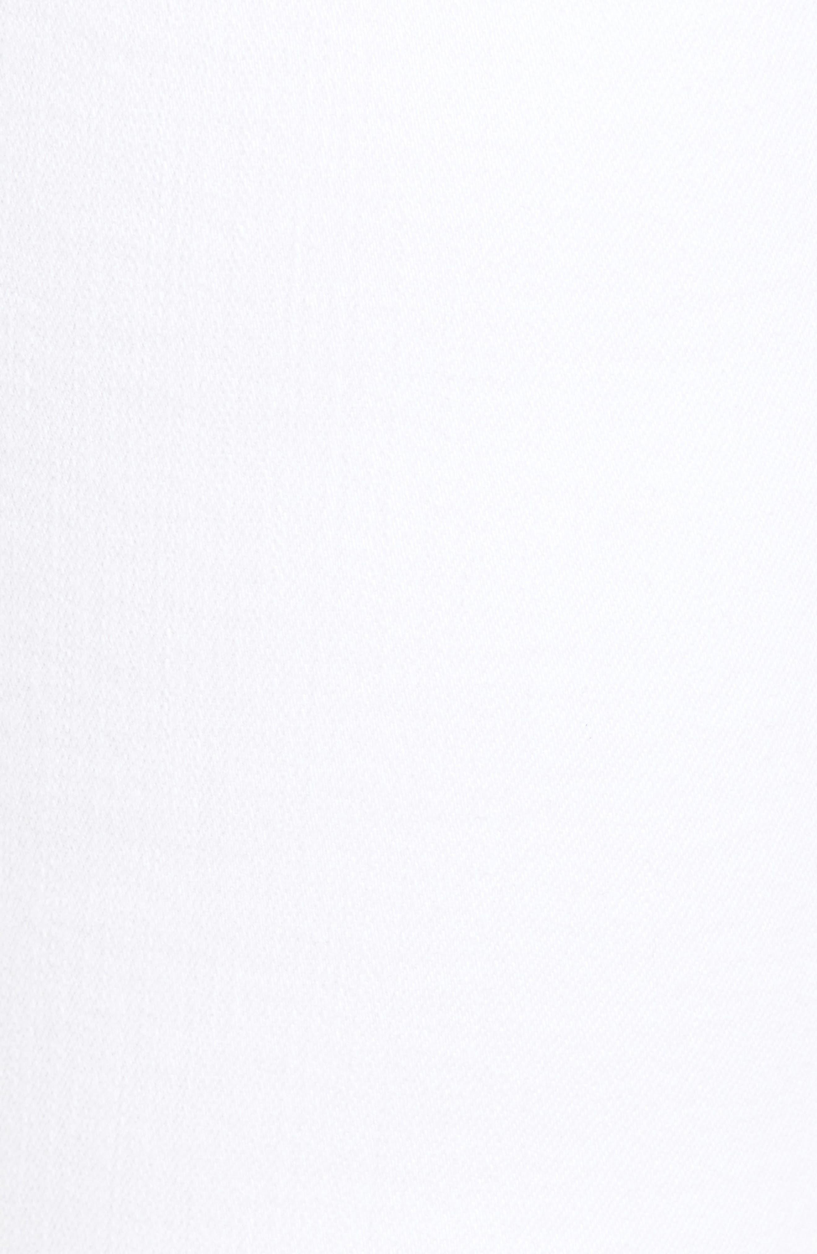 Prima Roll-Up Skinny Jeans,                             Alternate thumbnail 6, color,                             White