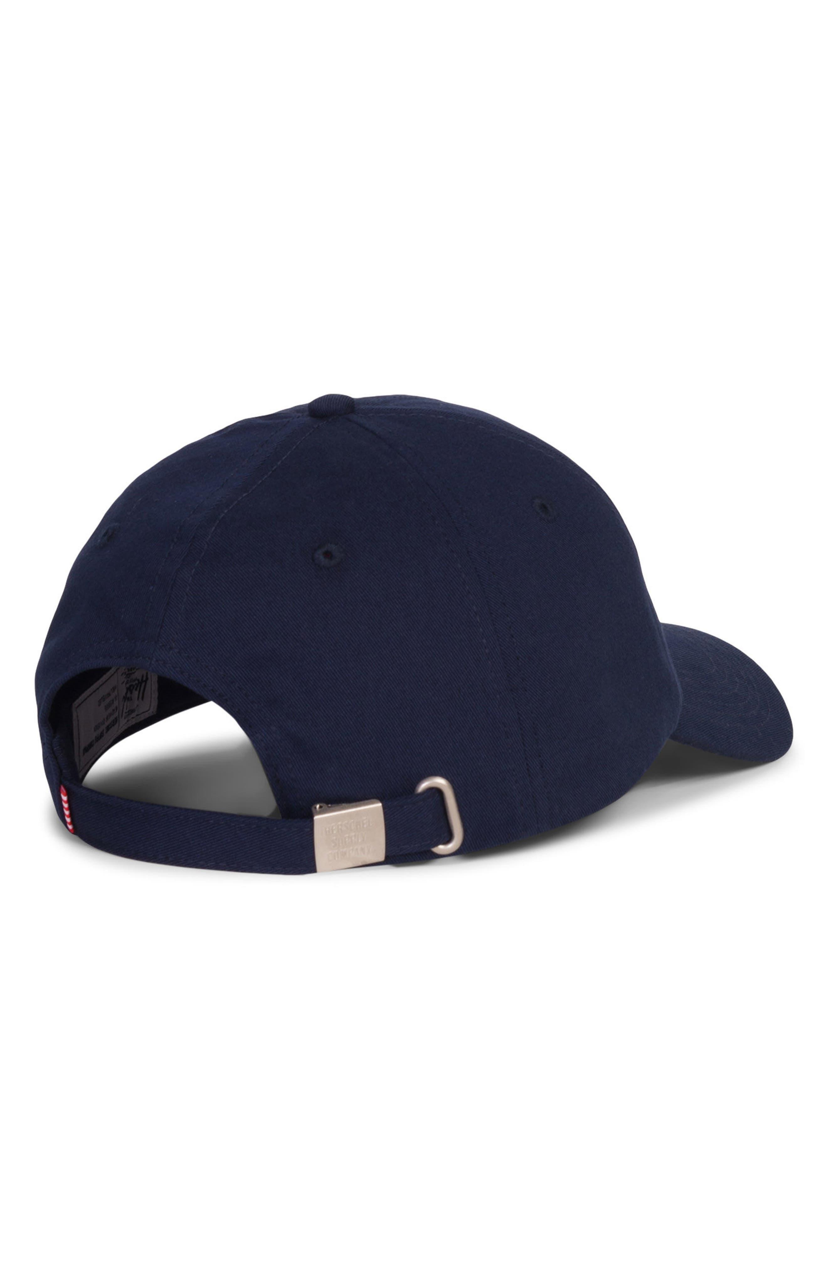 Sylas Baseball Cap,                             Alternate thumbnail 2, color,                             Navy