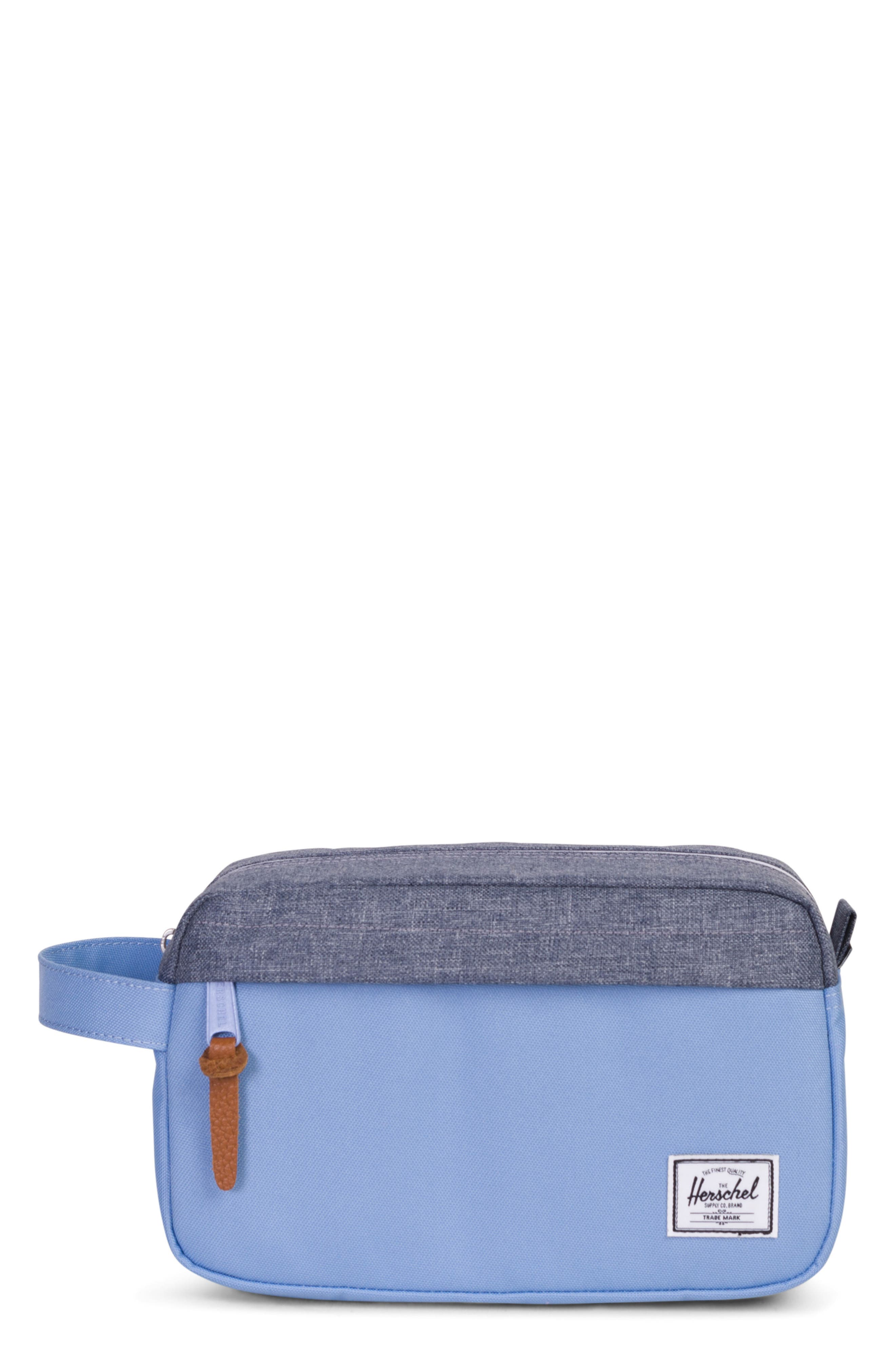 Chapter Carry-On Travel Kit,                         Main,                         color, Hydrangea/ Dark Chambray
