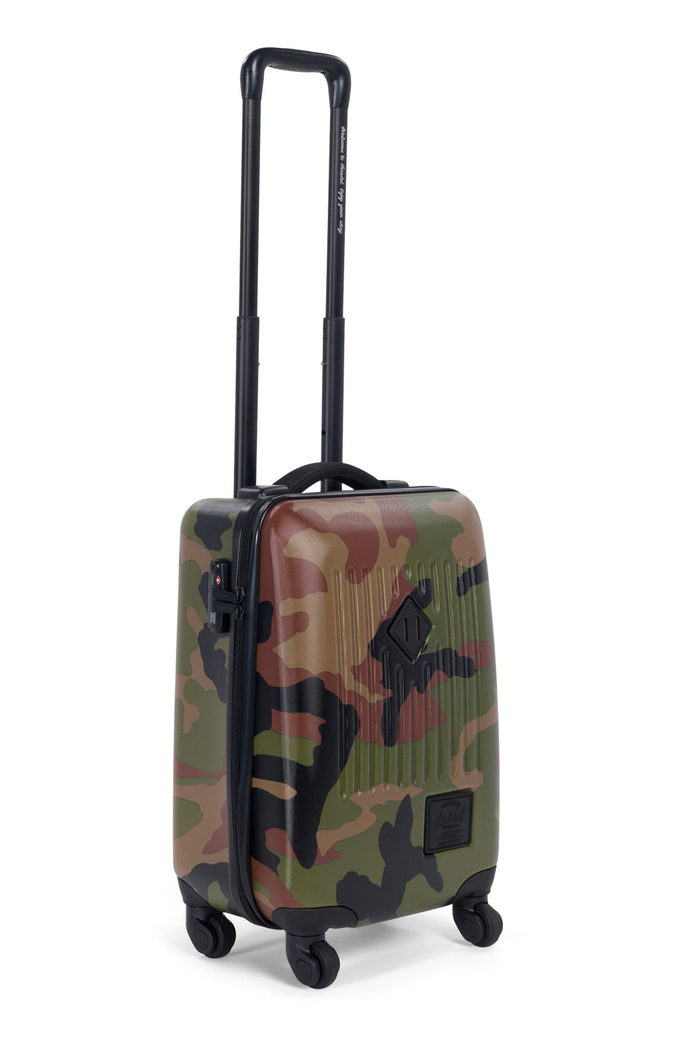 Trade 20-Inch Wheeled Carry-On,                             Alternate thumbnail 2, color,                             Woodland Camo