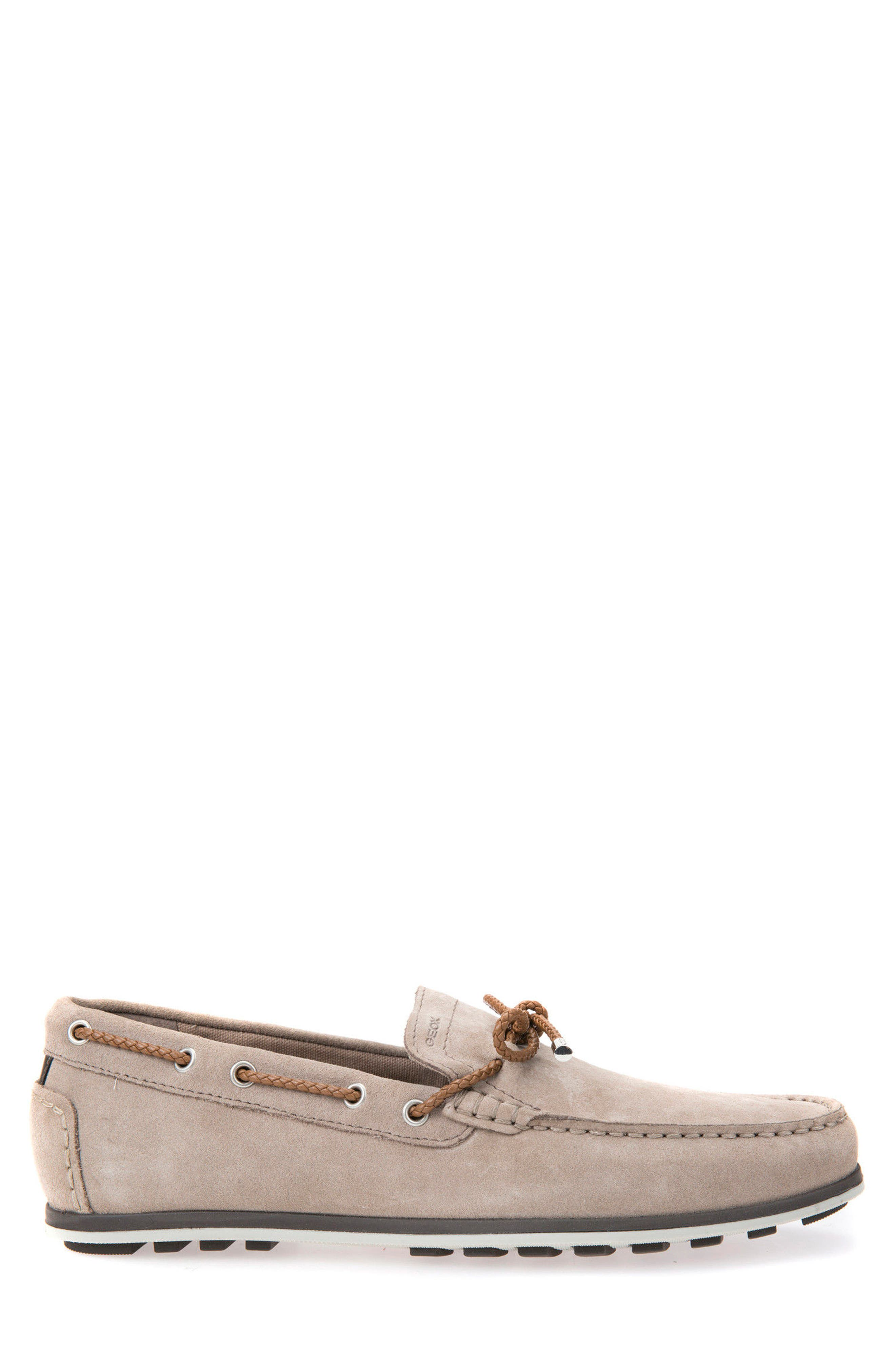 Mirvin 2 Boat Shoe,                             Alternate thumbnail 3, color,                             Taupe Suede