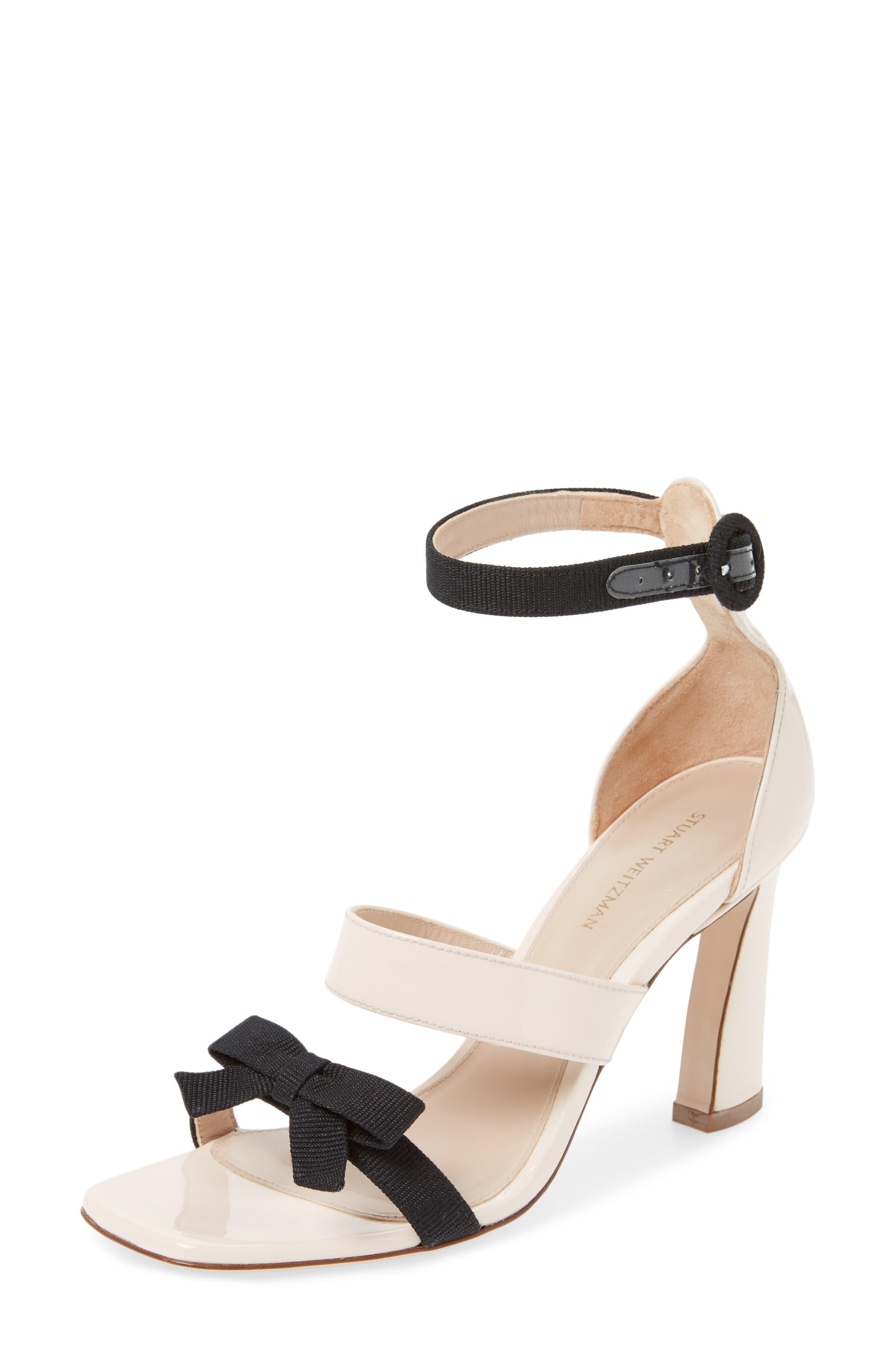 Stuart Weitzman Ally Bow Sandal (Women)