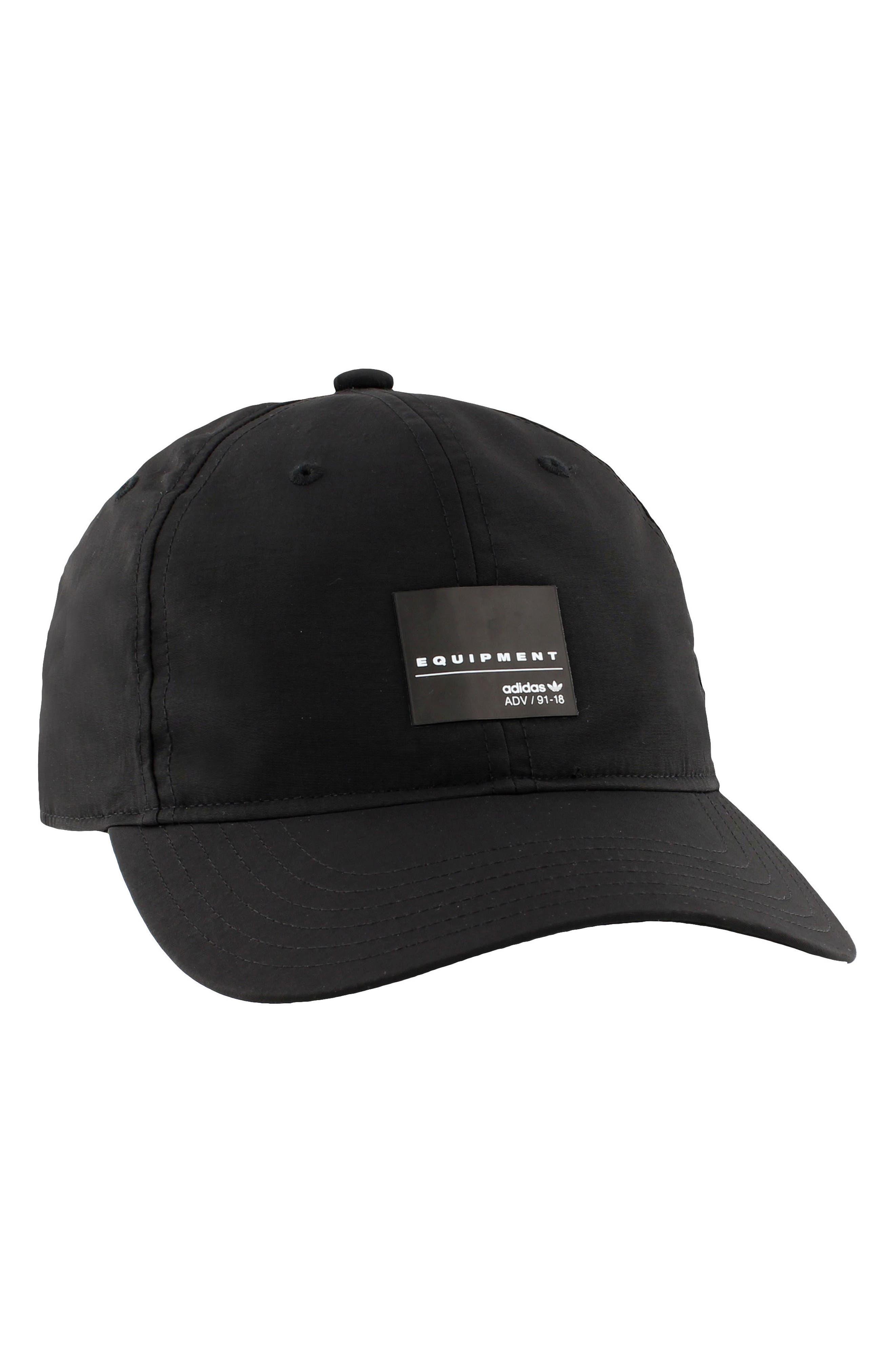 EQT Label Ball Cap,                             Alternate thumbnail 3, color,                             Black/ White