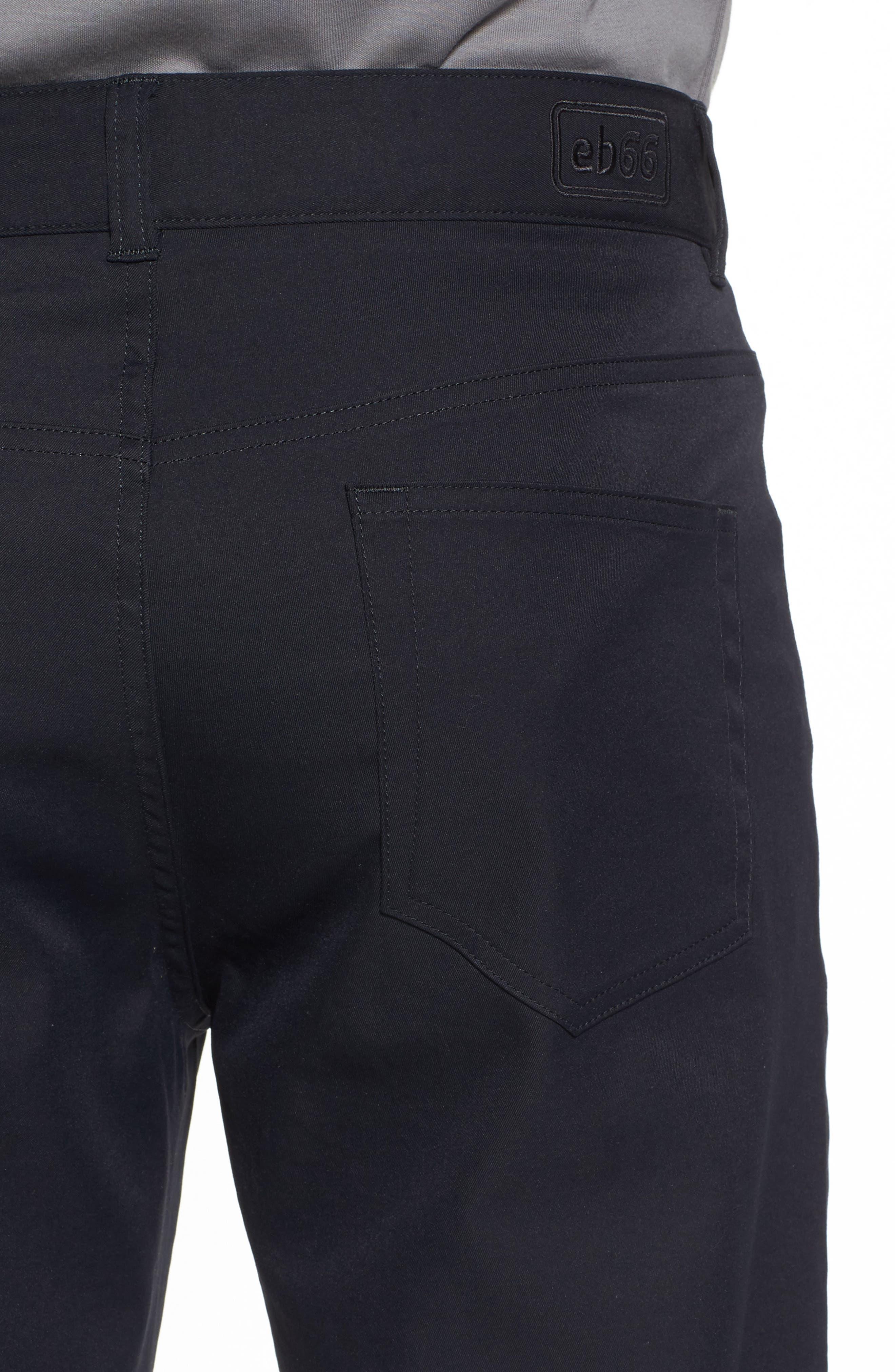 EB66 Performance Six-Pocket Pants,                             Alternate thumbnail 4, color,                             Black