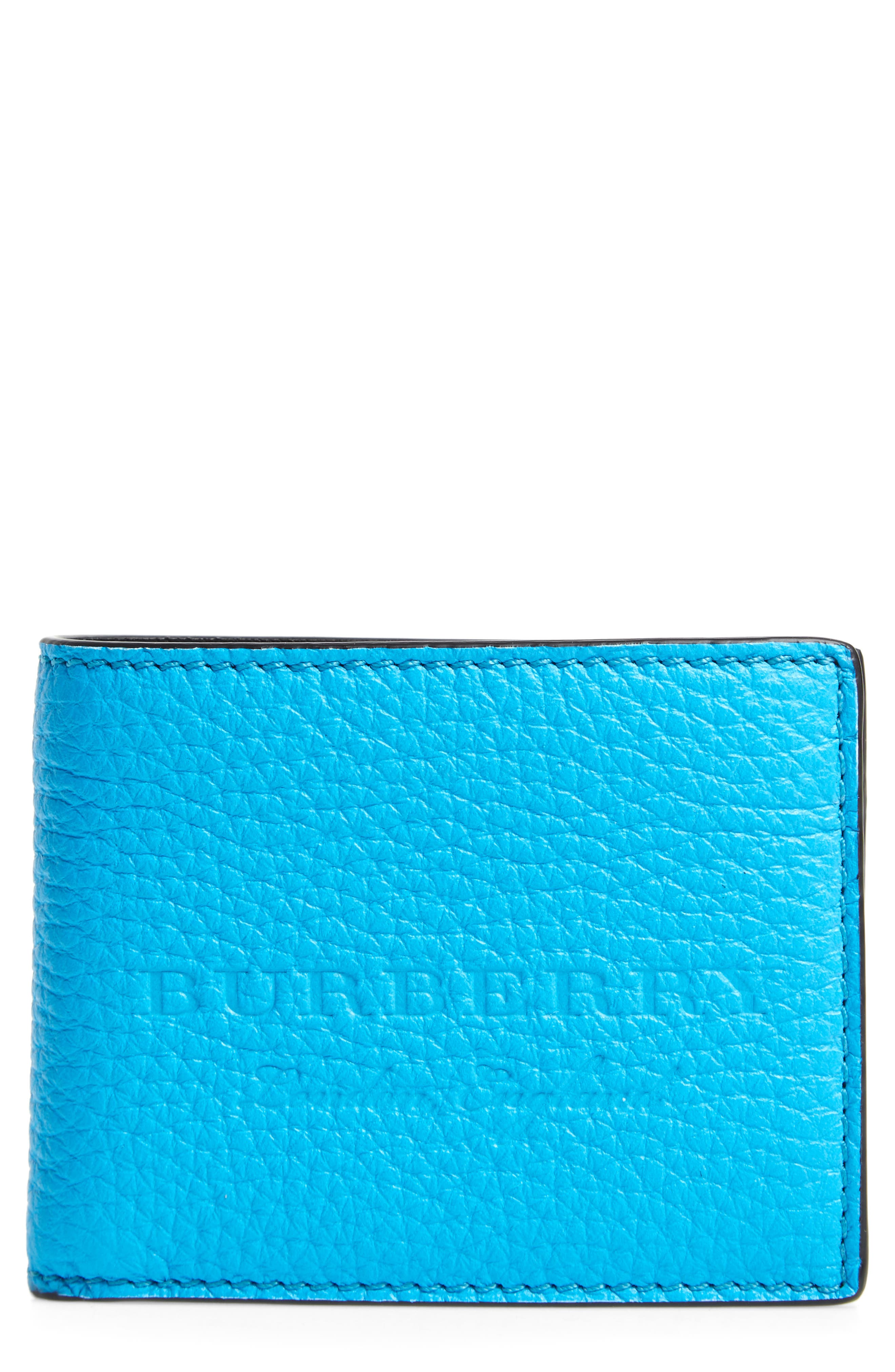 Burberry Leather Bifold Wallet