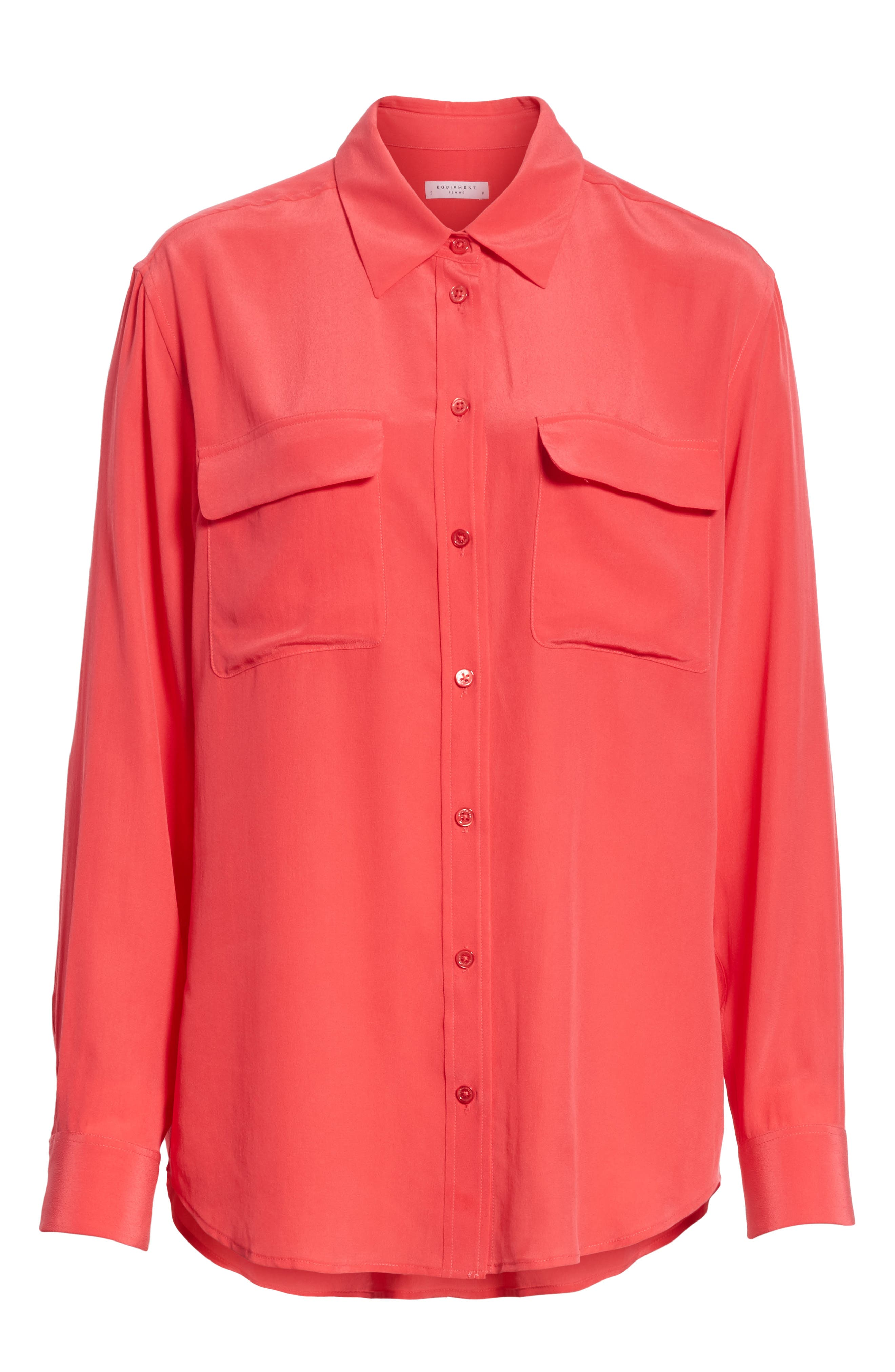 Alternate Image 6  - Equipment 'Signature' Silk Shirt