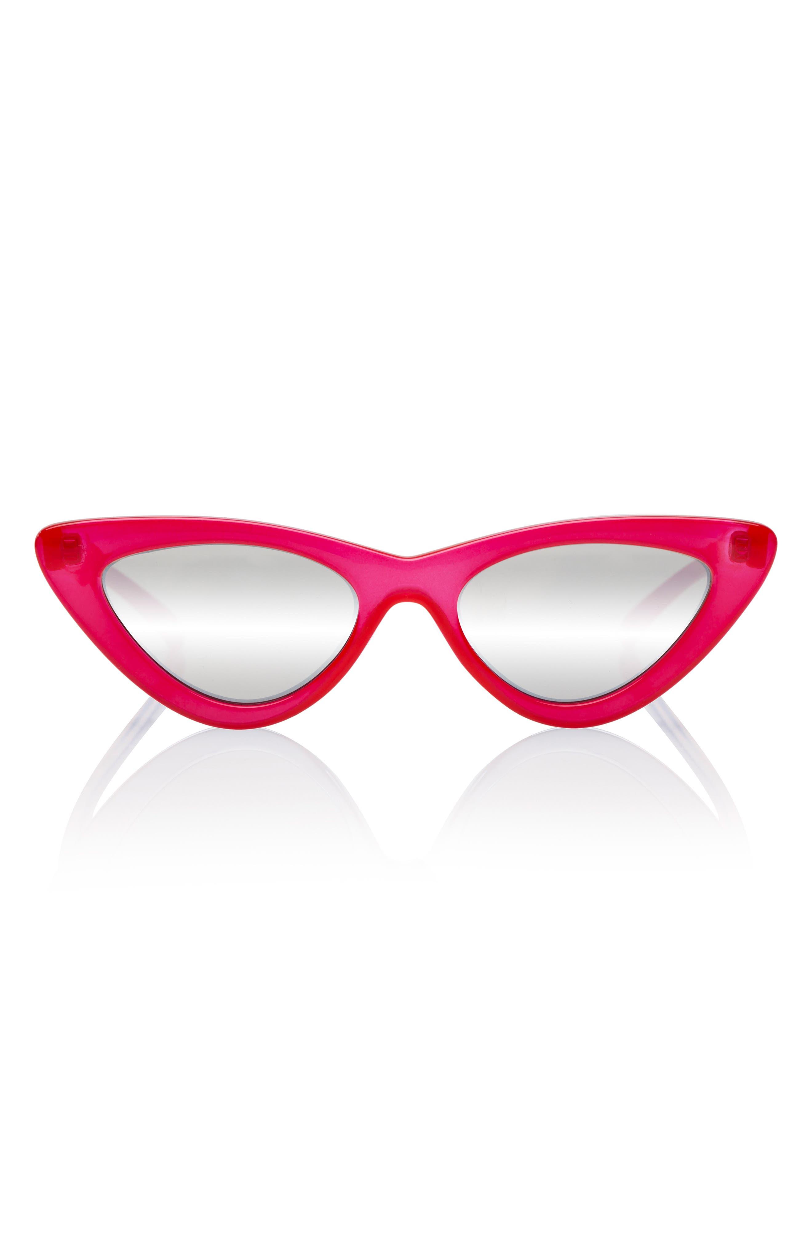 Alternate Image 2  - Adam Selman x Le Specs Luxe Last Lolita 49mm Cat Eye Sunglasses