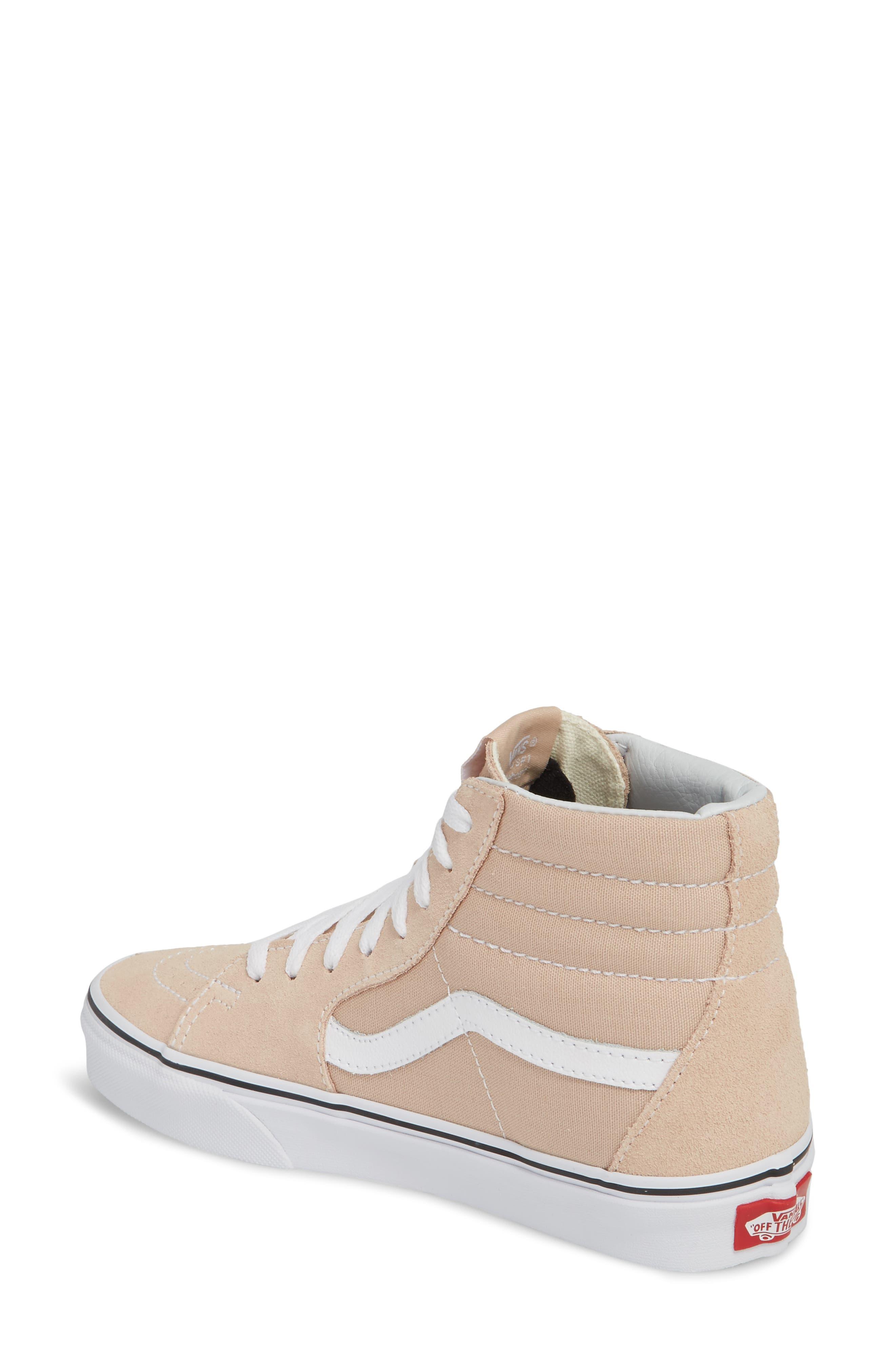 'Sk8-Hi Slim' Sneaker,                             Alternate thumbnail 2, color,                             Frappe/ True White
