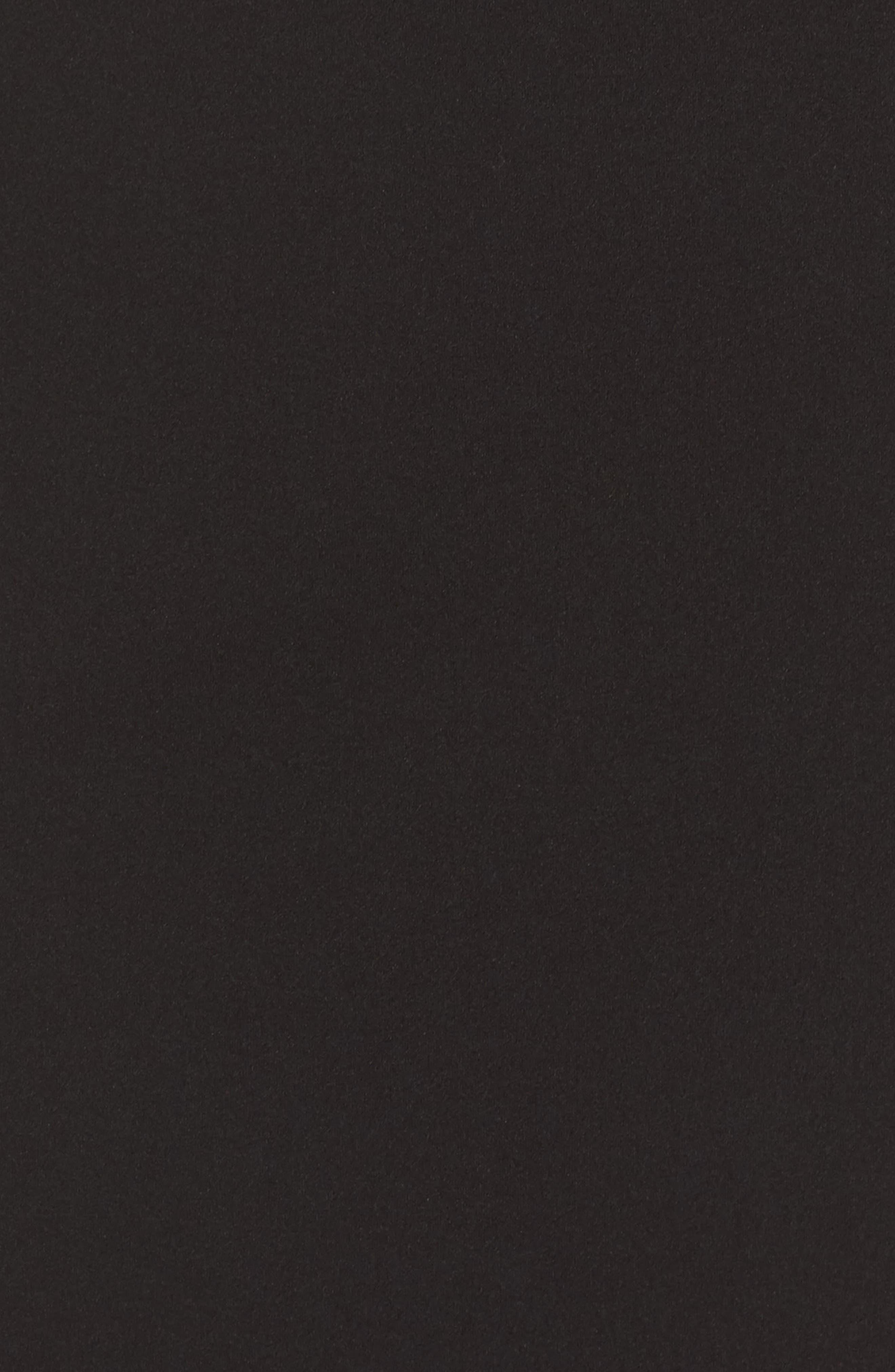 Pleat Ruffle Off the Shoulder Dress,                             Alternate thumbnail 5, color,                             Black