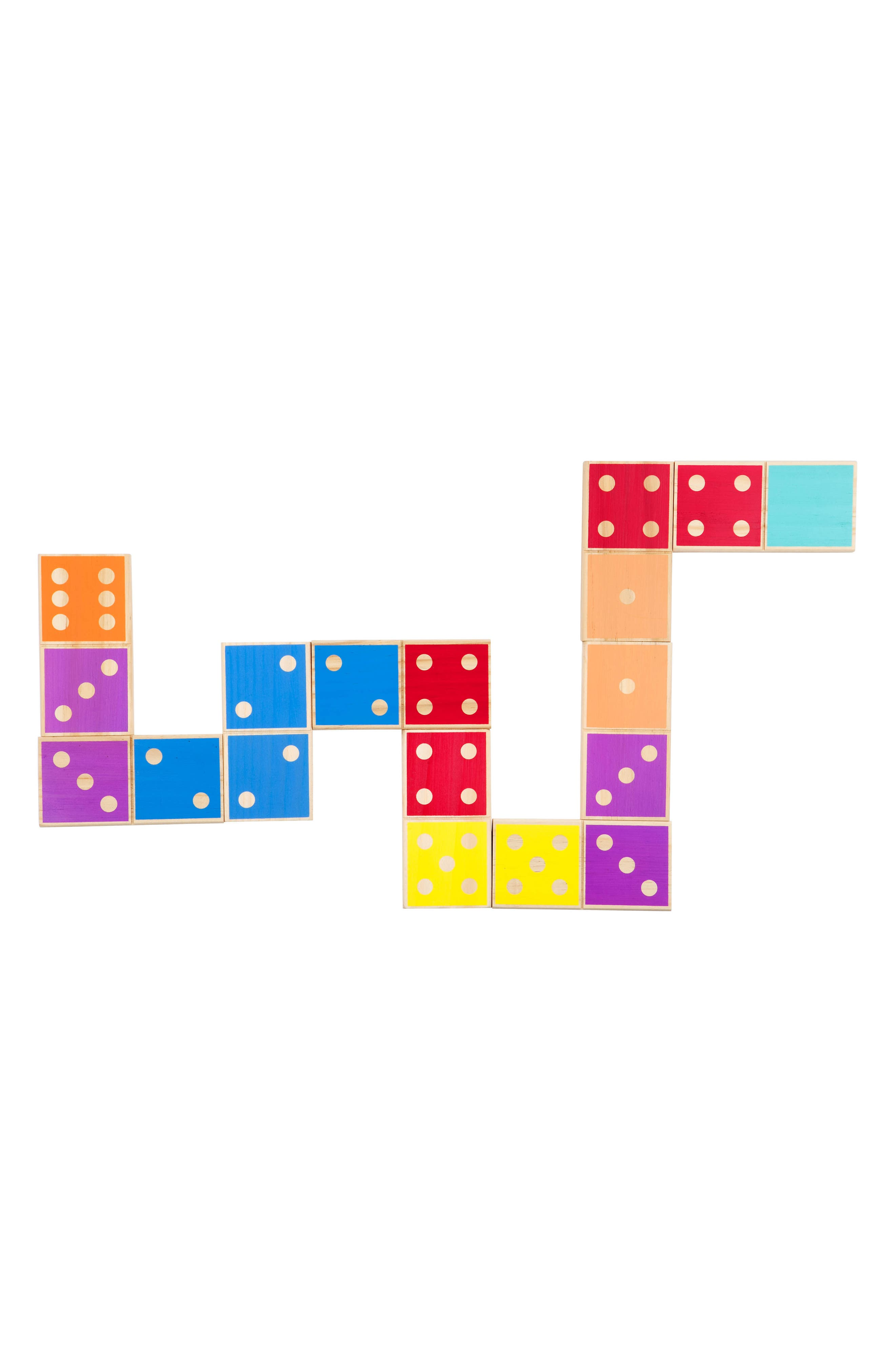 28-Piece Giant Dominos Game,                             Alternate thumbnail 3, color,                             Multi