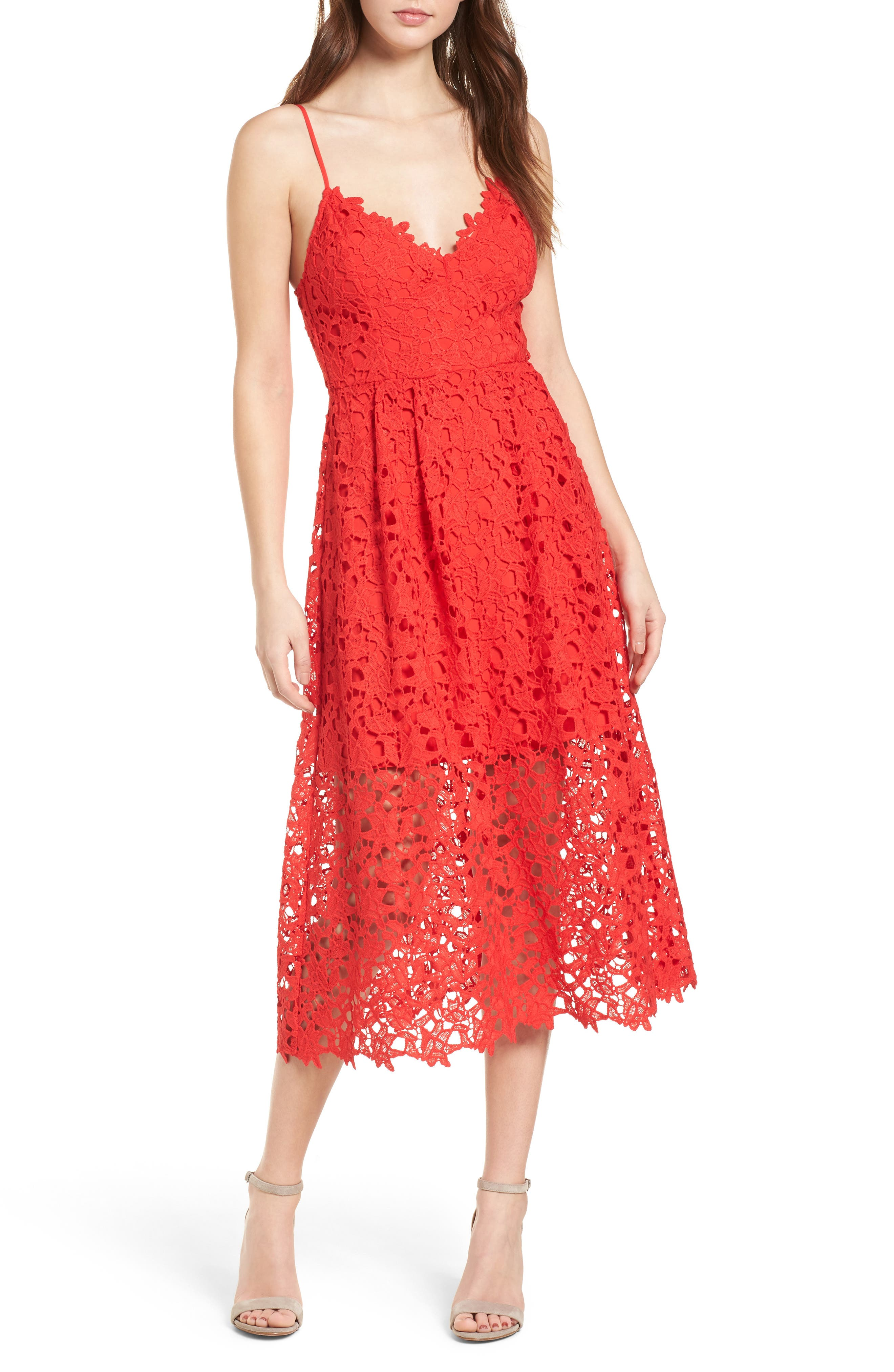 Fall Wedding Guest Dresses On Red