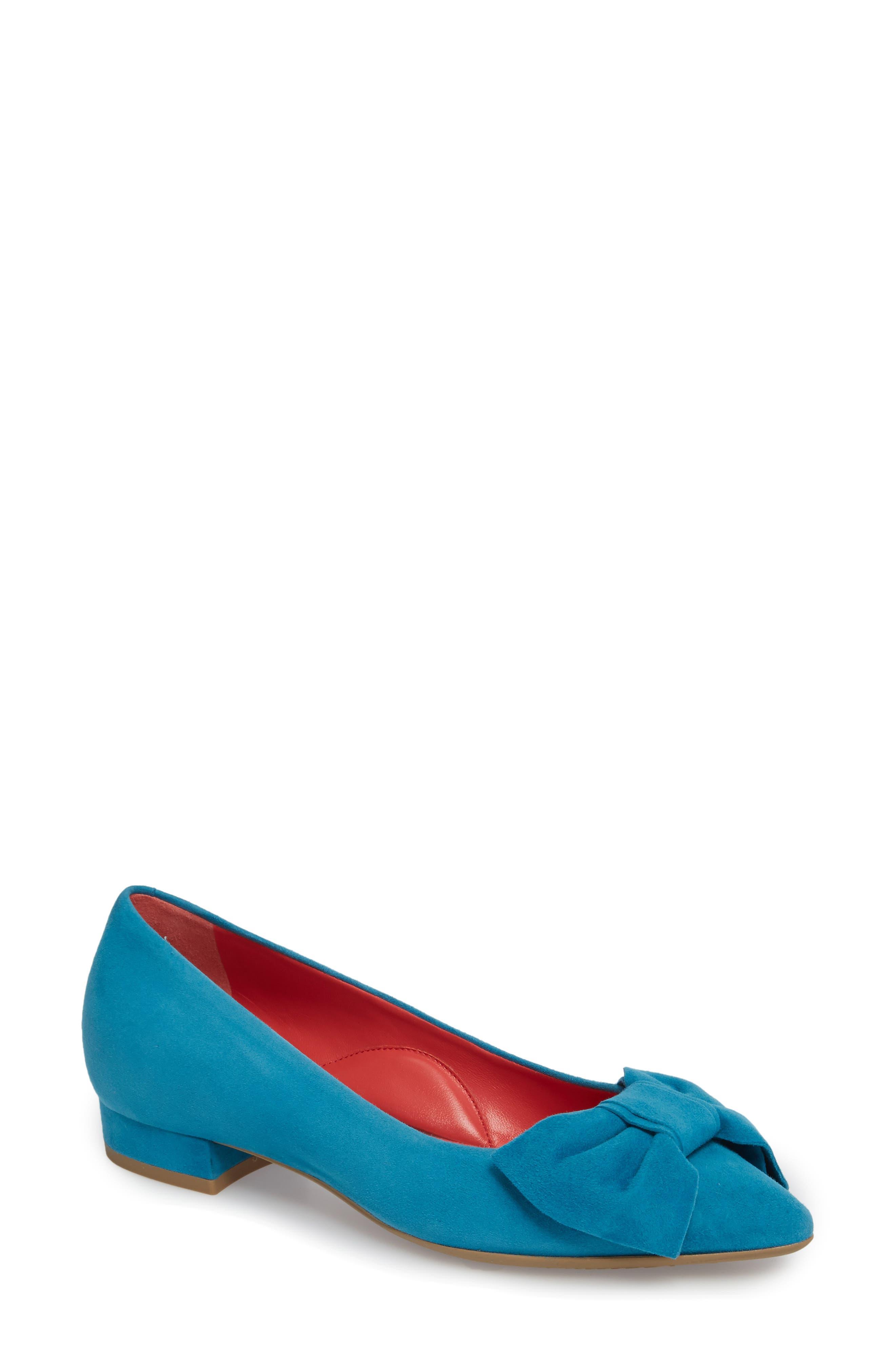 Janet Skimmer,                         Main,                         color, Blue Suede