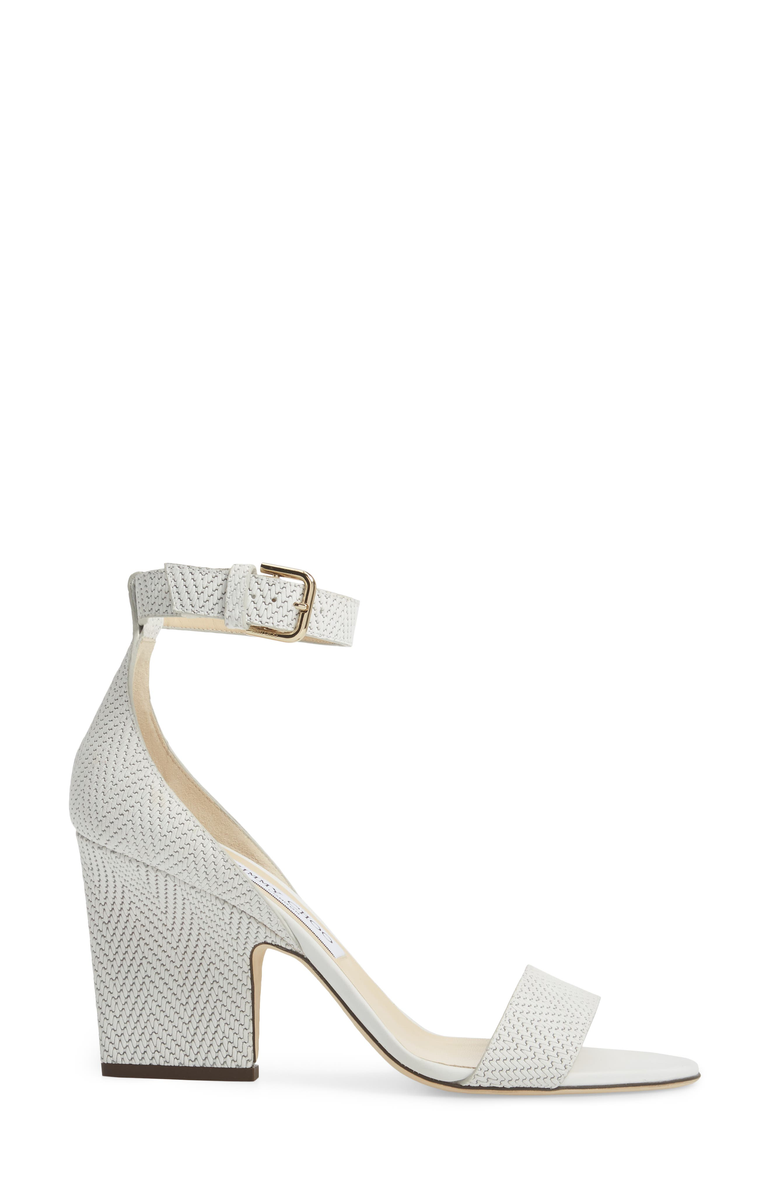 Alternate Image 3  - Jimmy Choo Edina Ankle Strap Sandal (Women)
