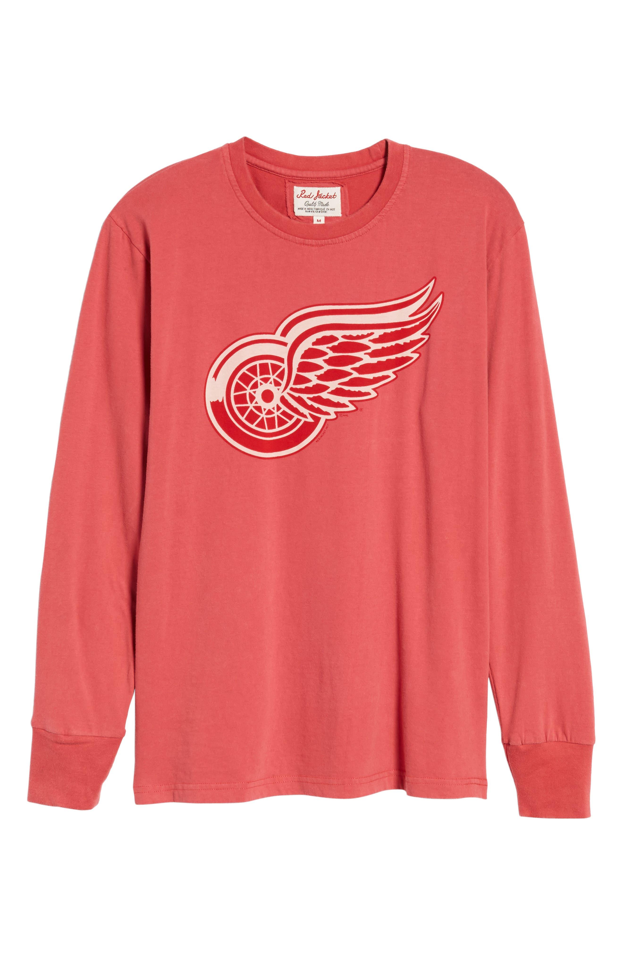Gresham Red Wings T-Shirt,                             Alternate thumbnail 6, color,                             Red
