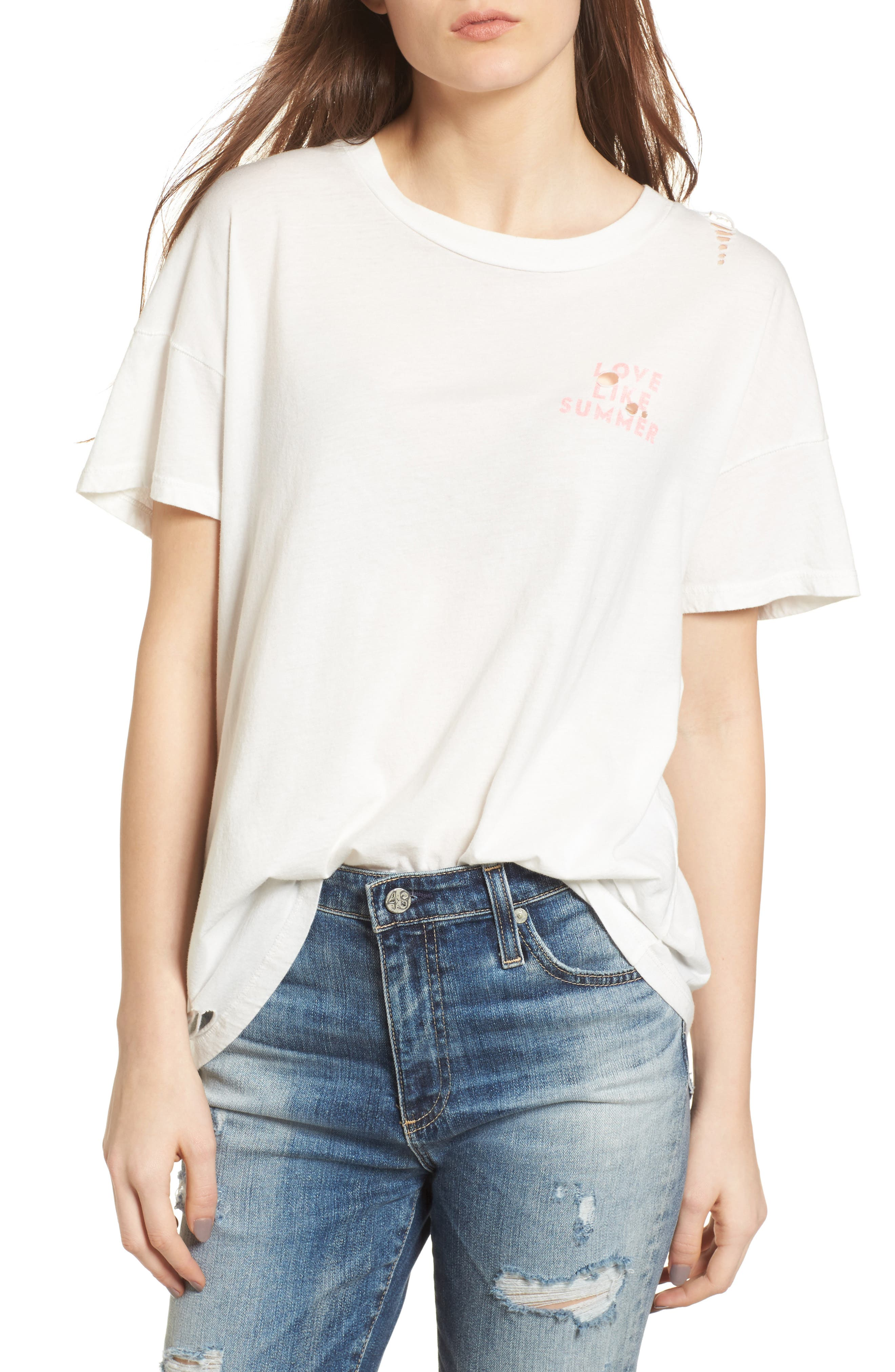Sweet Whisper Tee,                         Main,                         color, Cool Whip