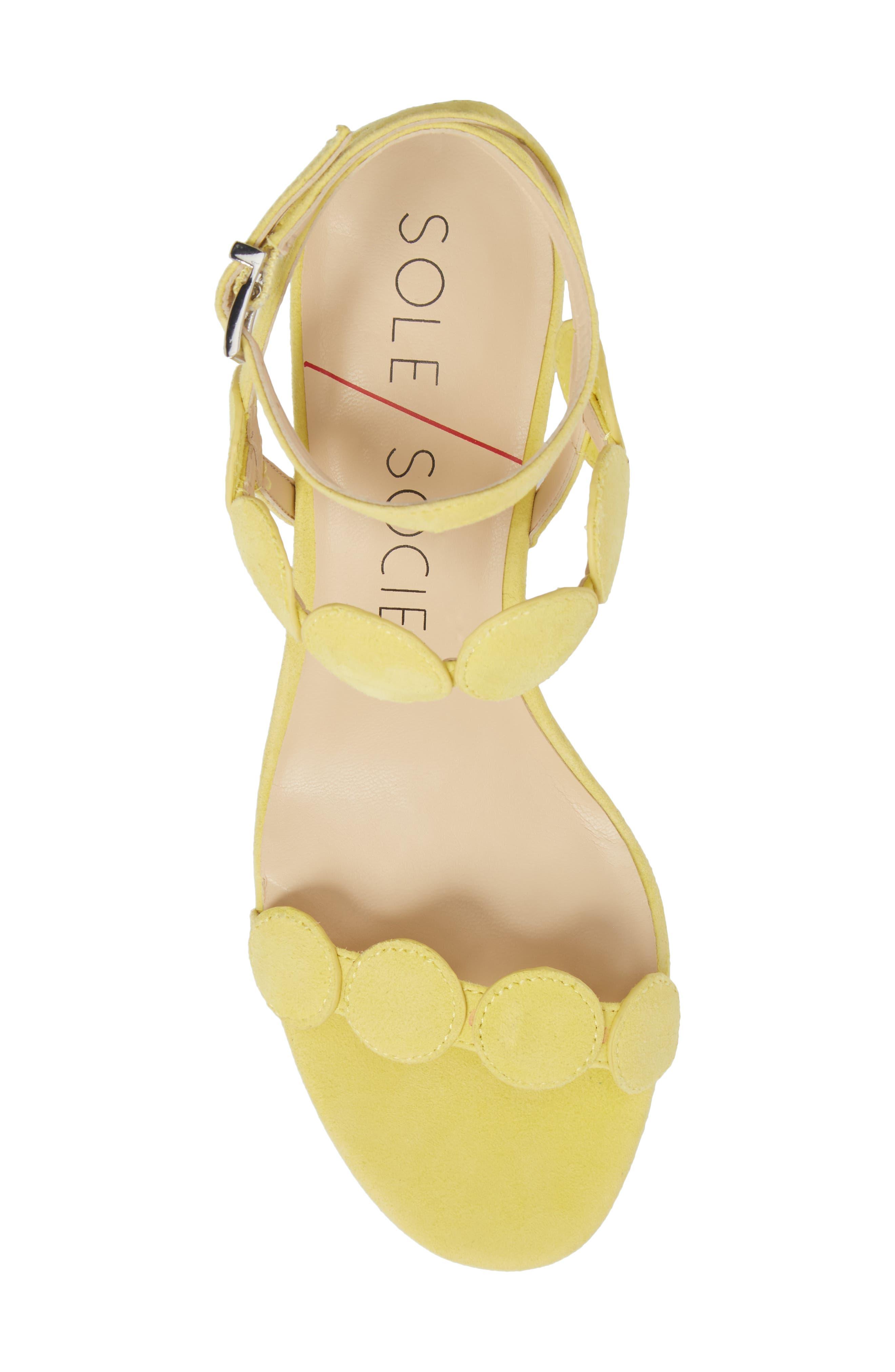 Alternate Image 5  - Sole Society Shea Block Heel Sandal (Women)