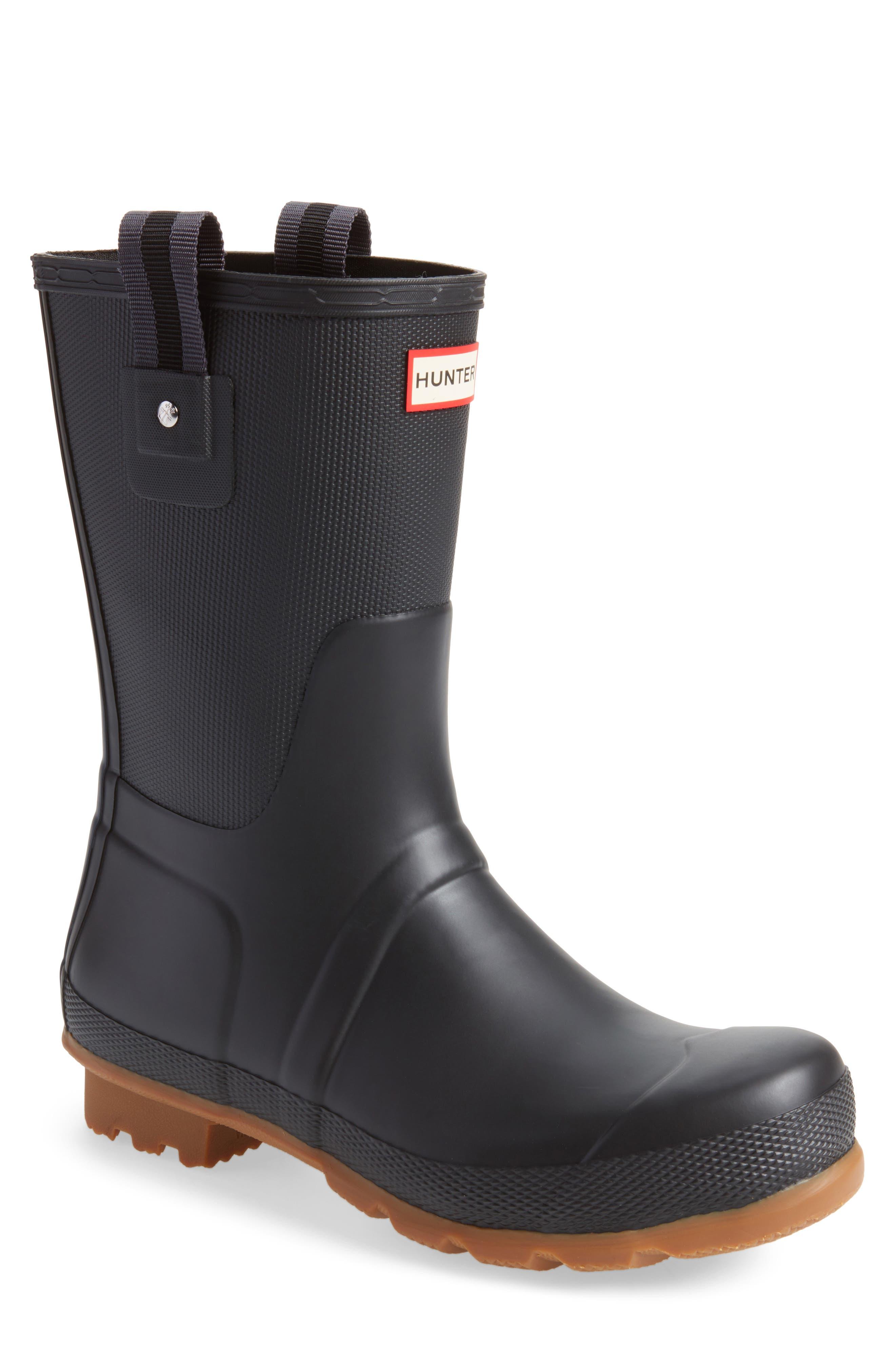 Original Sissinghurst Rain Boot,                             Main thumbnail 1, color,                             Black/ Gum
