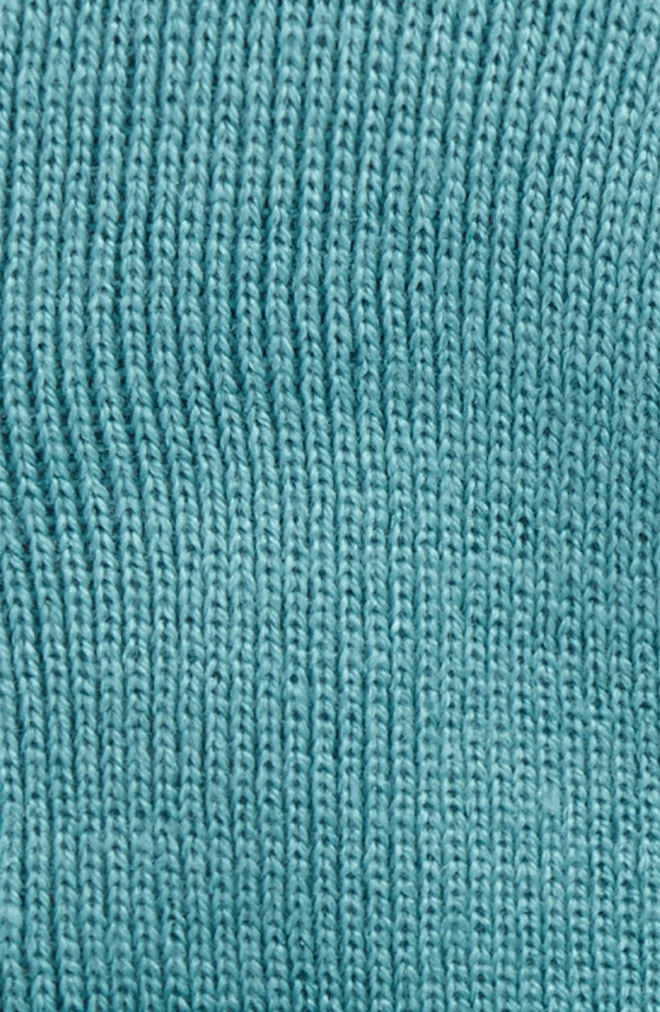 Madison Beanie,                             Alternate thumbnail 2, color,                             71590-Soft Teal/White