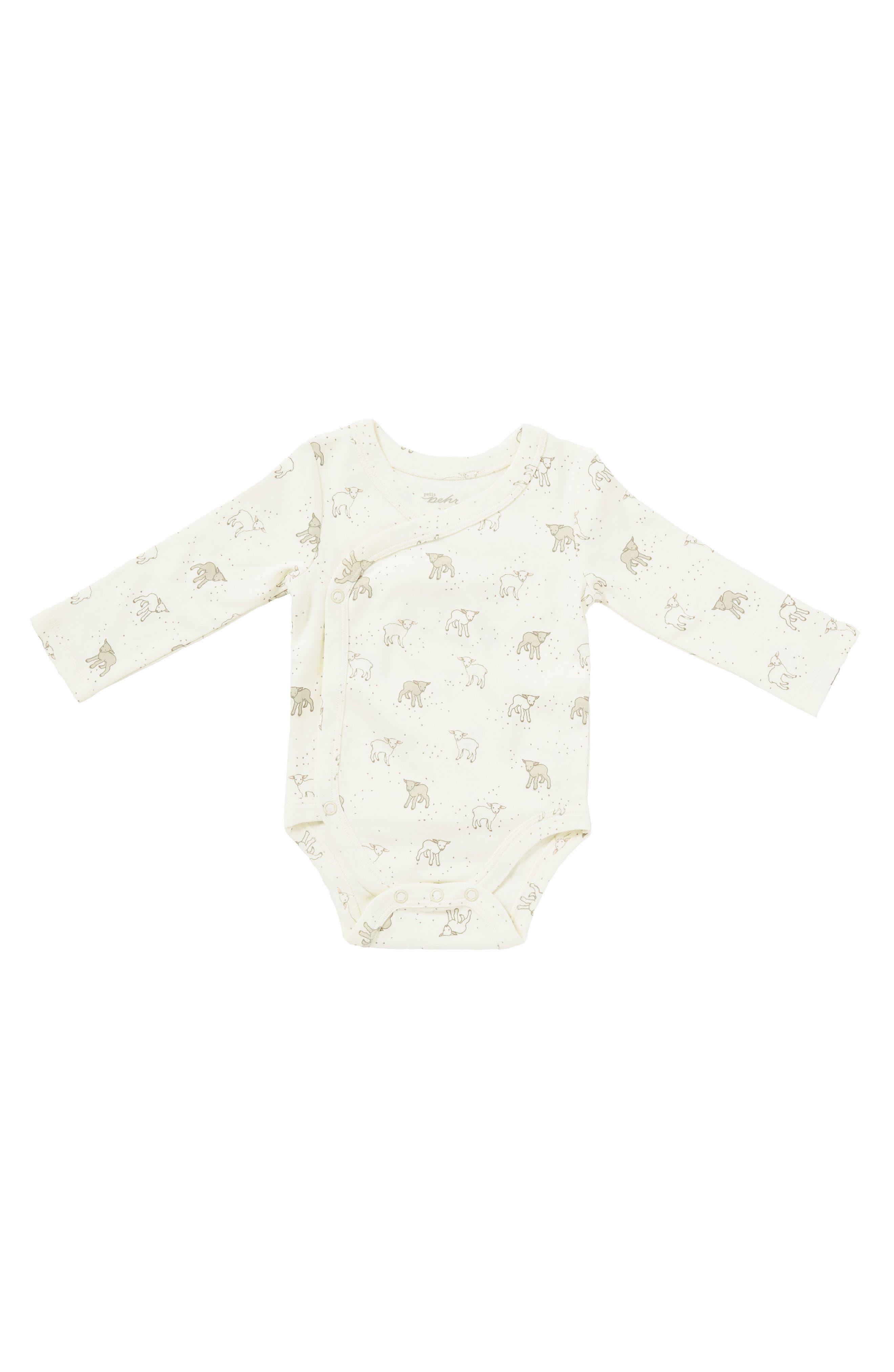 Little Lamb Bodysuit,                         Main,                         color, Ivory