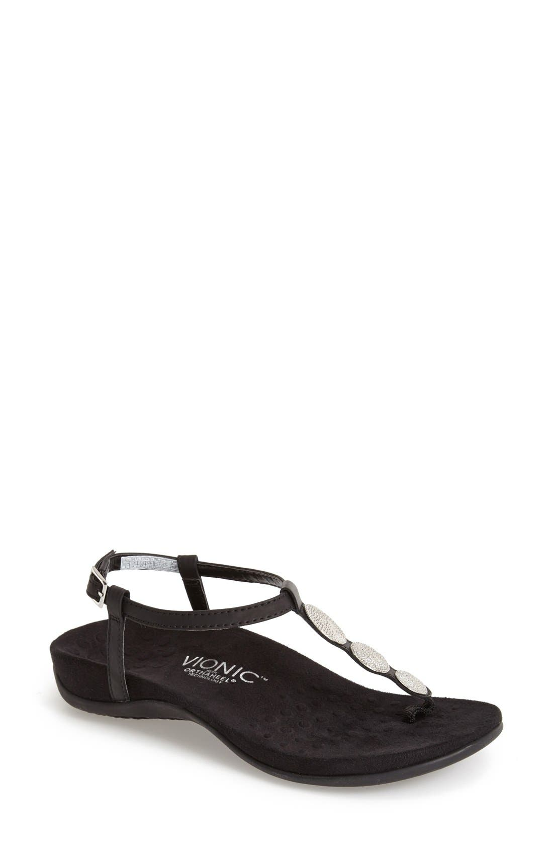 Alternate Image 1 Selected - Vionic 'Lizbeth' Thong Sandal (Women)