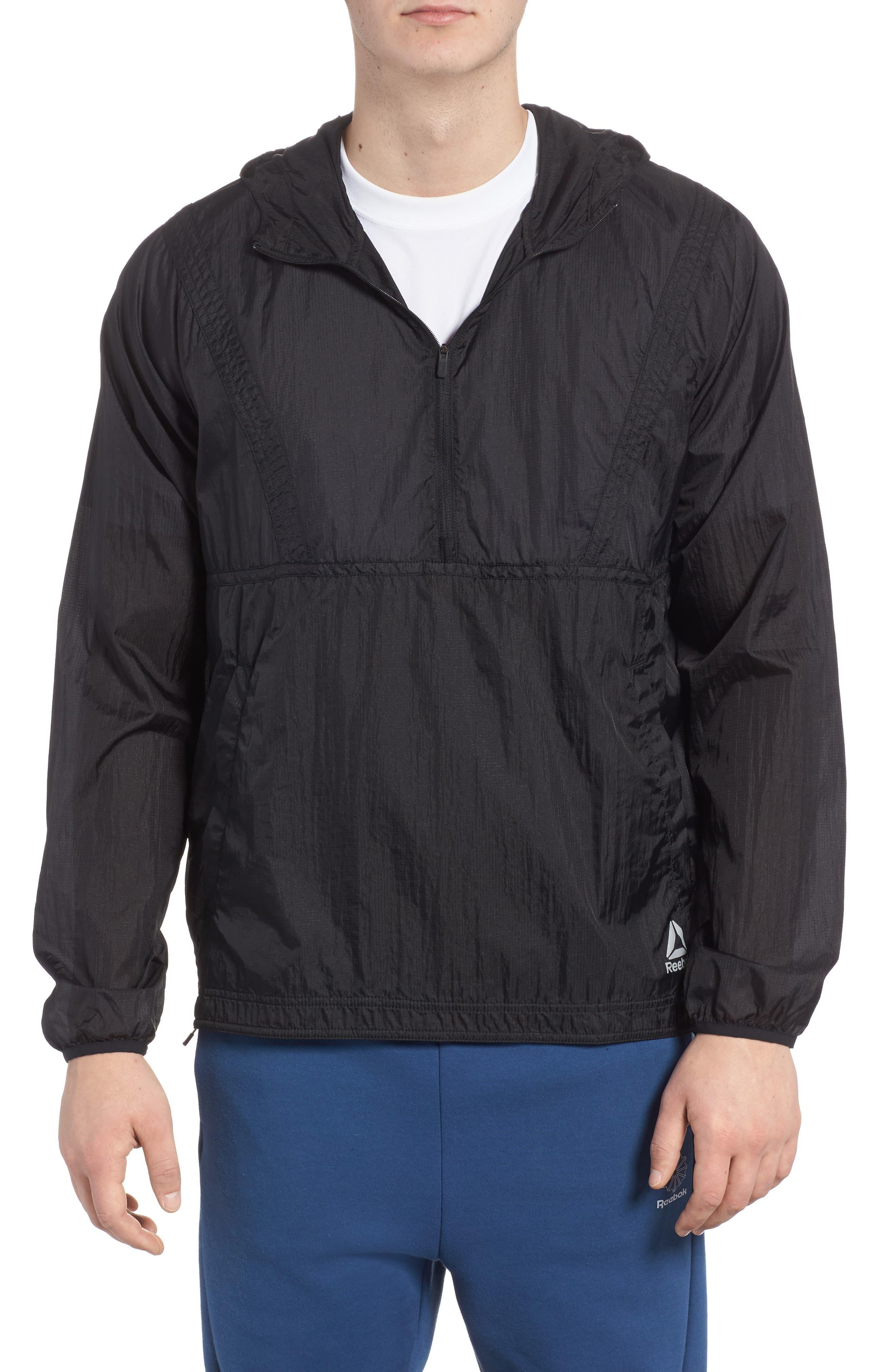 Packable Jacket,                         Main,                         color, Black