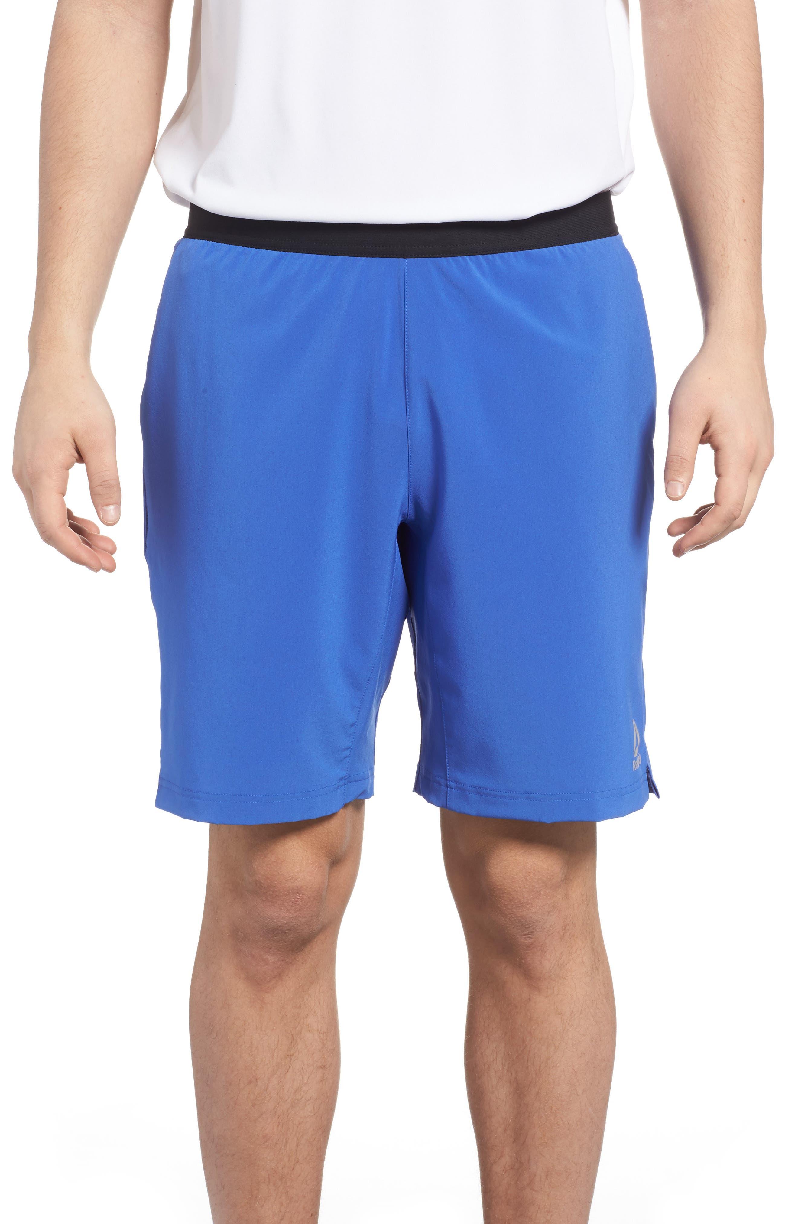 Speedwick Speed Training Shorts,                         Main,                         color, Acid Blue S18-R