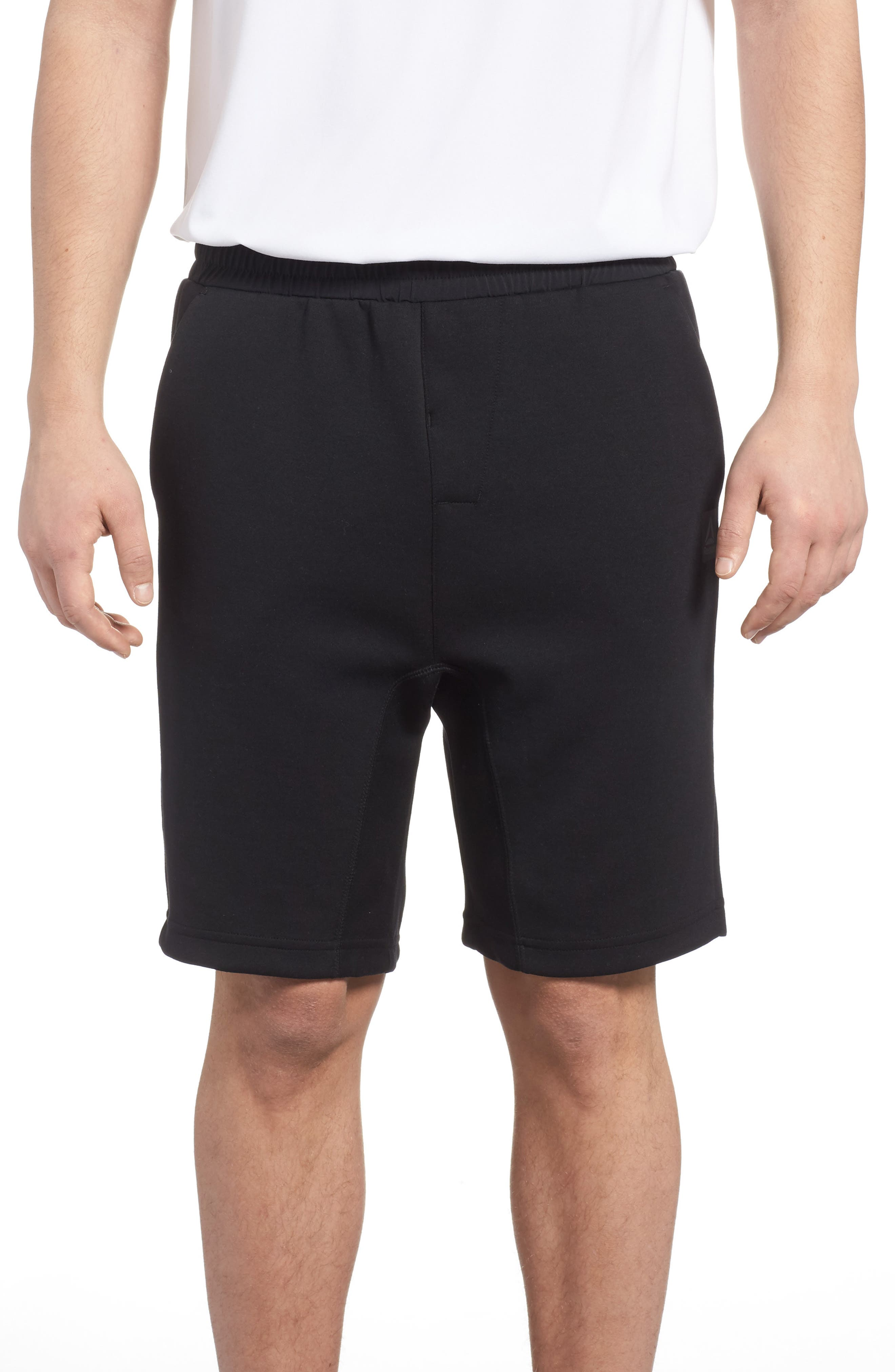 TS Knit Shorts,                             Main thumbnail 1, color,                             Black