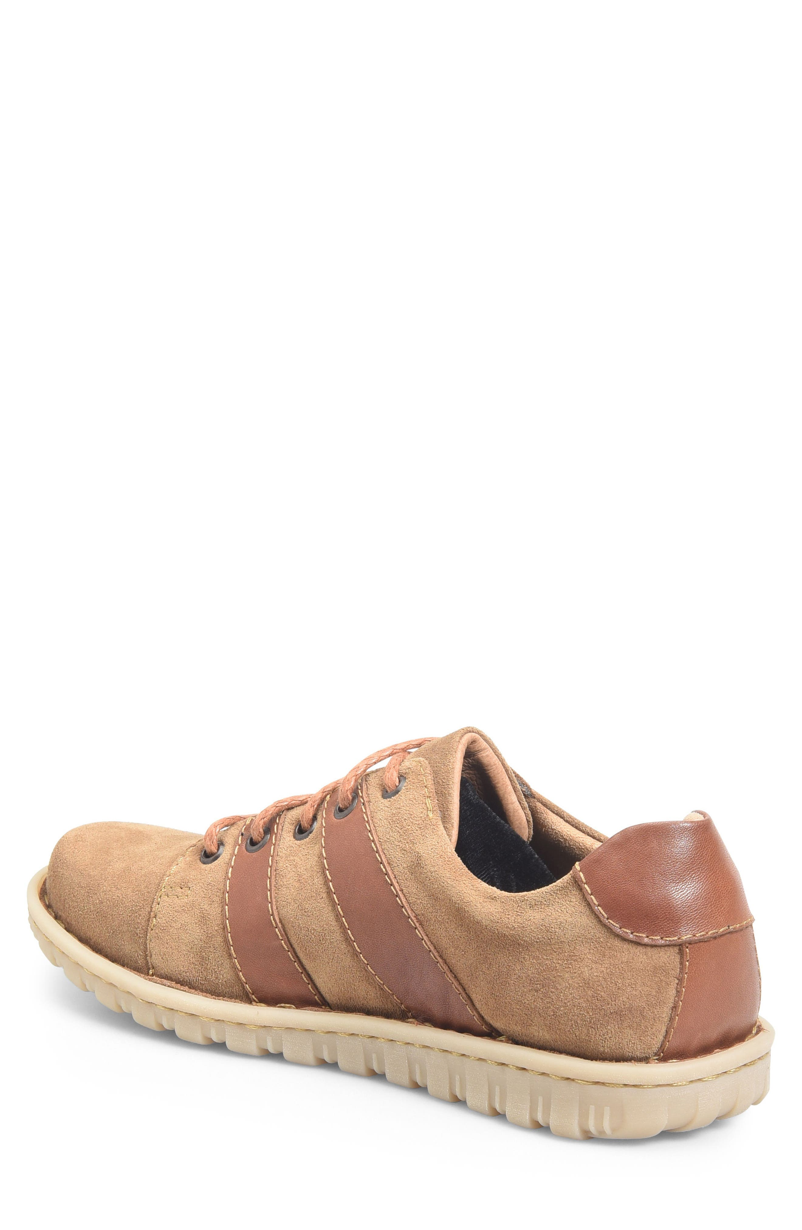 Pool Plain Toe Derby,                             Alternate thumbnail 2, color,                             Brown/ Rust Leather