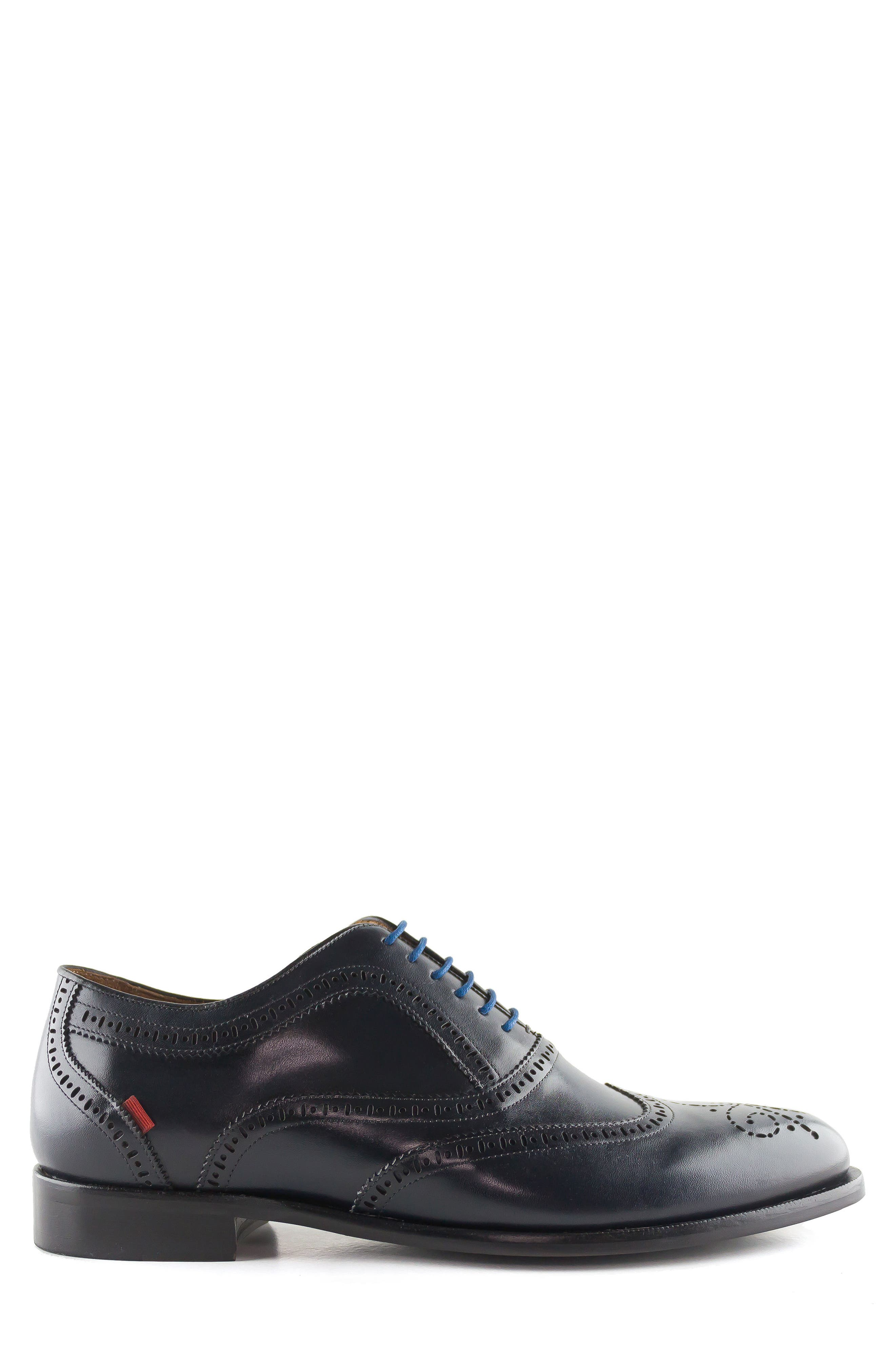Madison Wingtip Oxford,                             Alternate thumbnail 3, color,                             Navy
