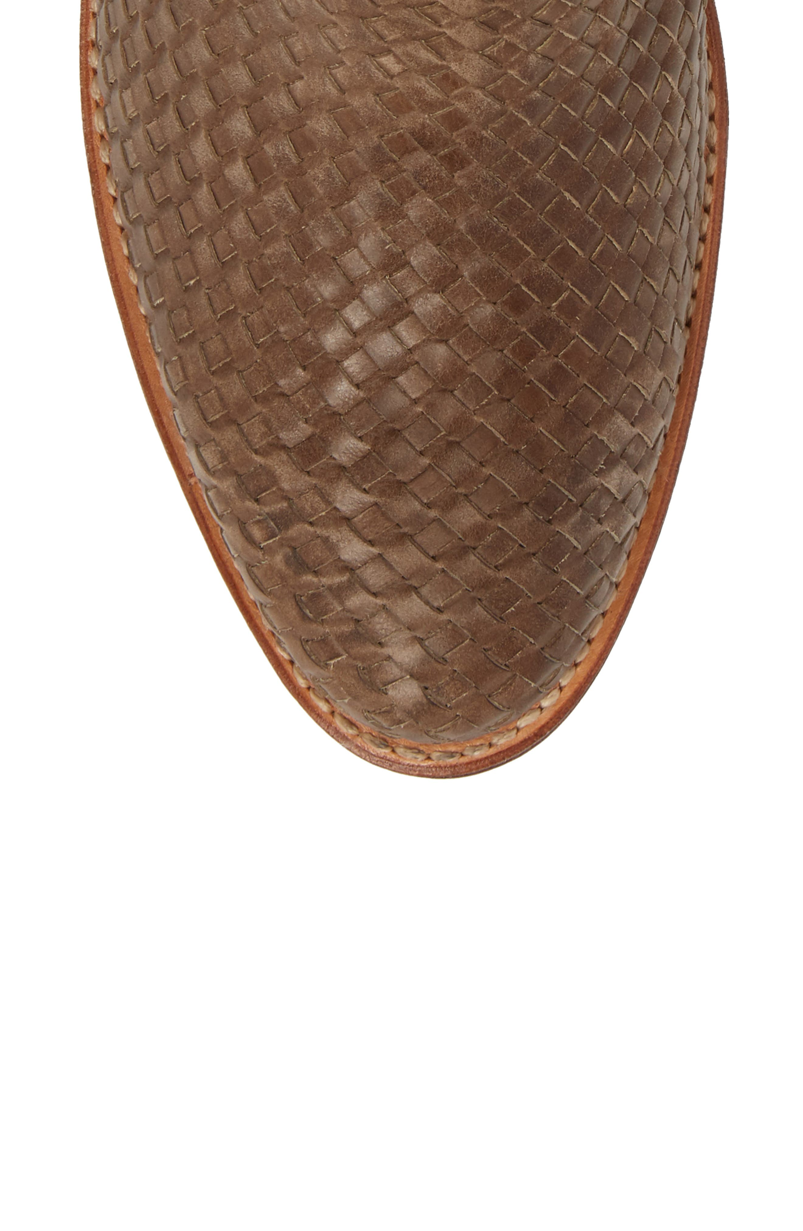 Two24 by Ariat Sollana Bootie,                             Alternate thumbnail 5, color,                             Brown Leather