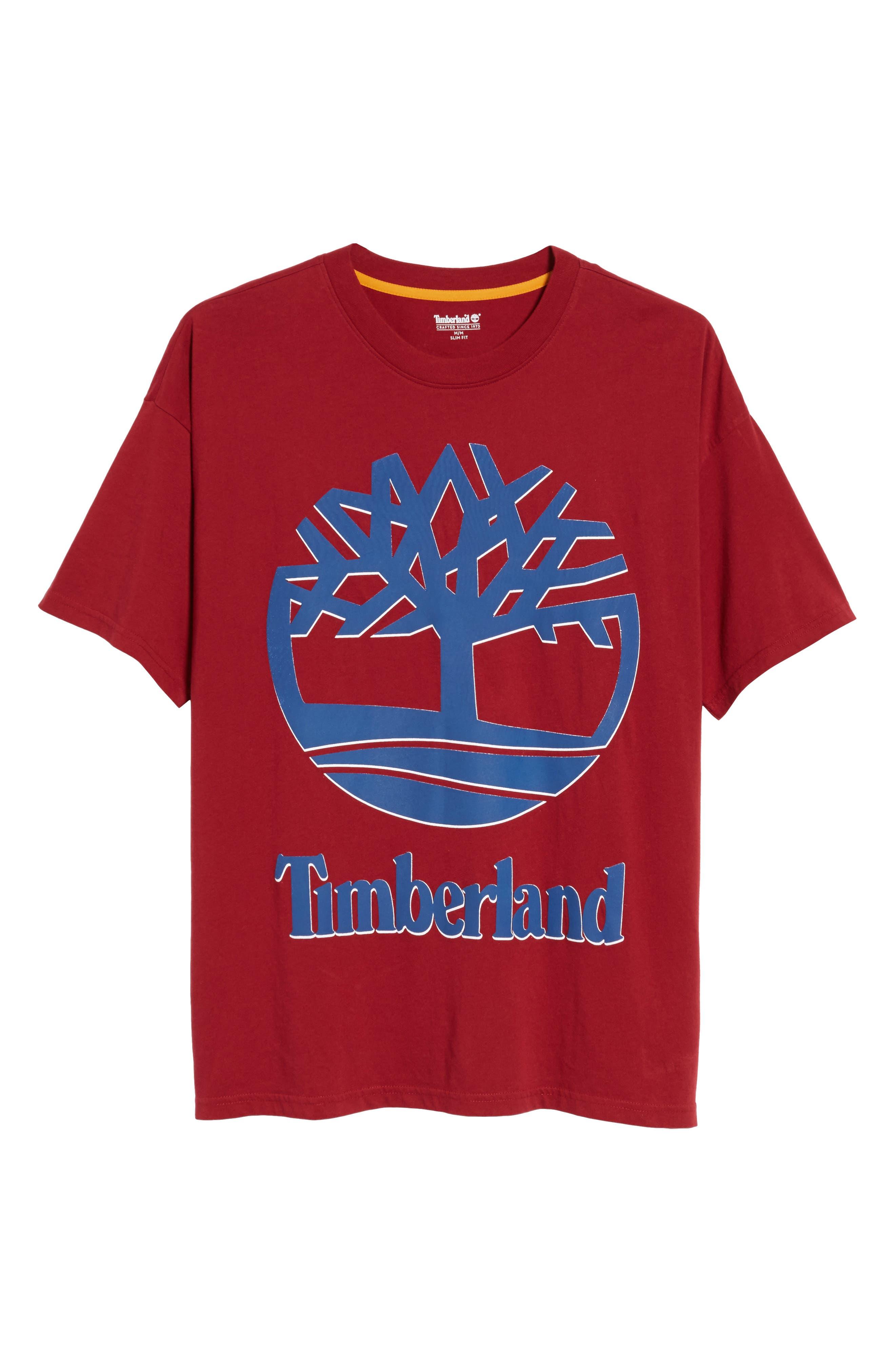 Alternate Image 6  - Timberland Logo T-Shirt