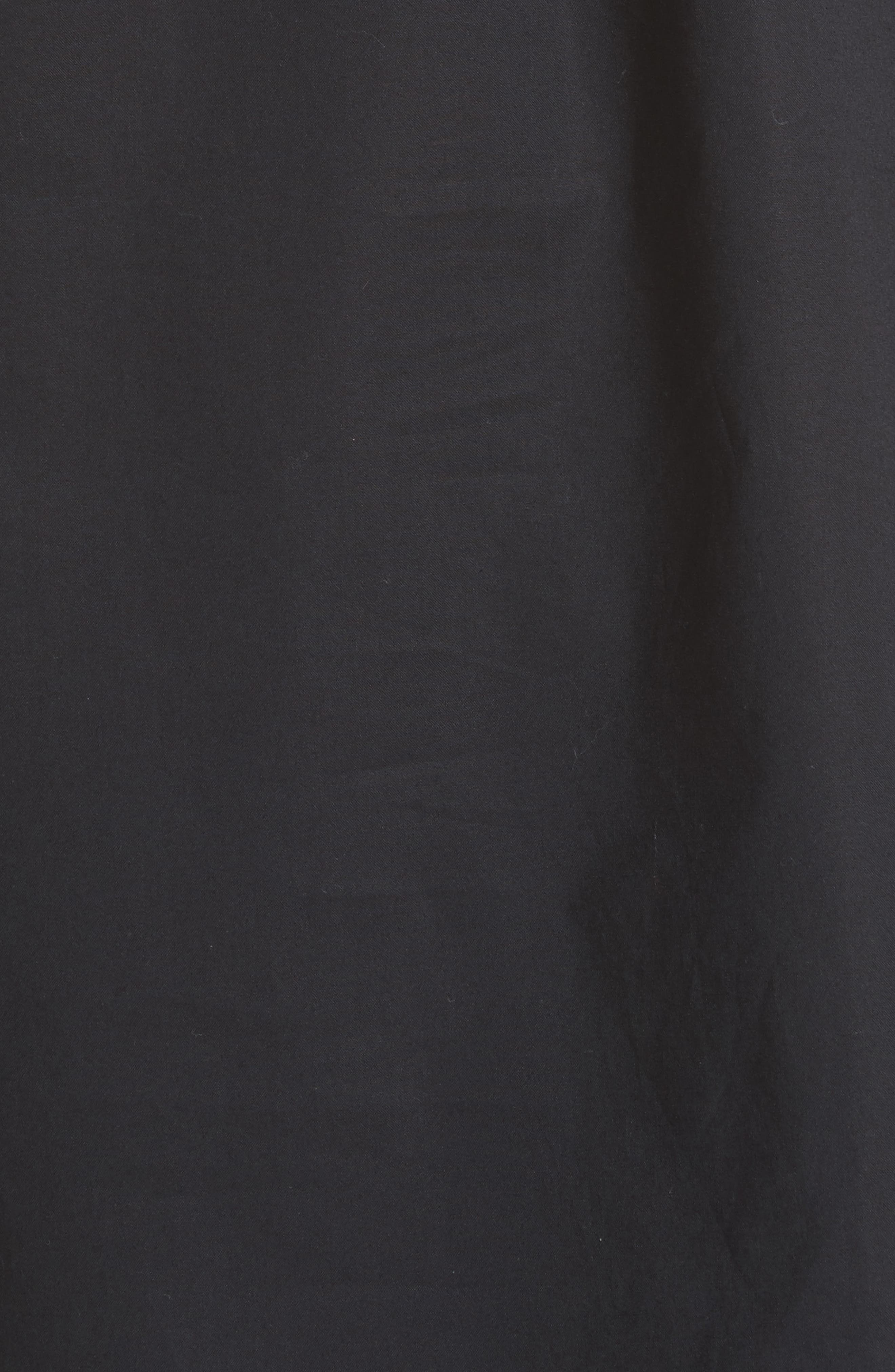one-shoulder cutwork top,                             Alternate thumbnail 5, color,                             Black