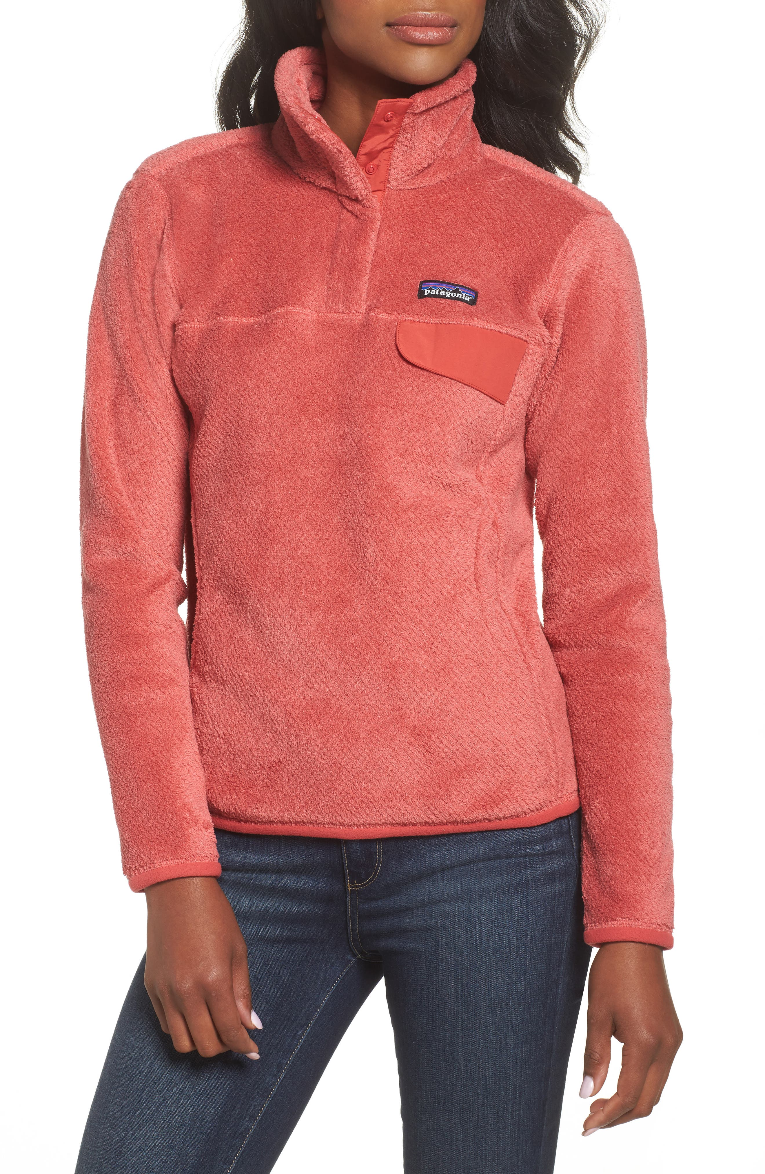 Main Image - Patagonia Re-Tool Snap-T® Fleece Pullover