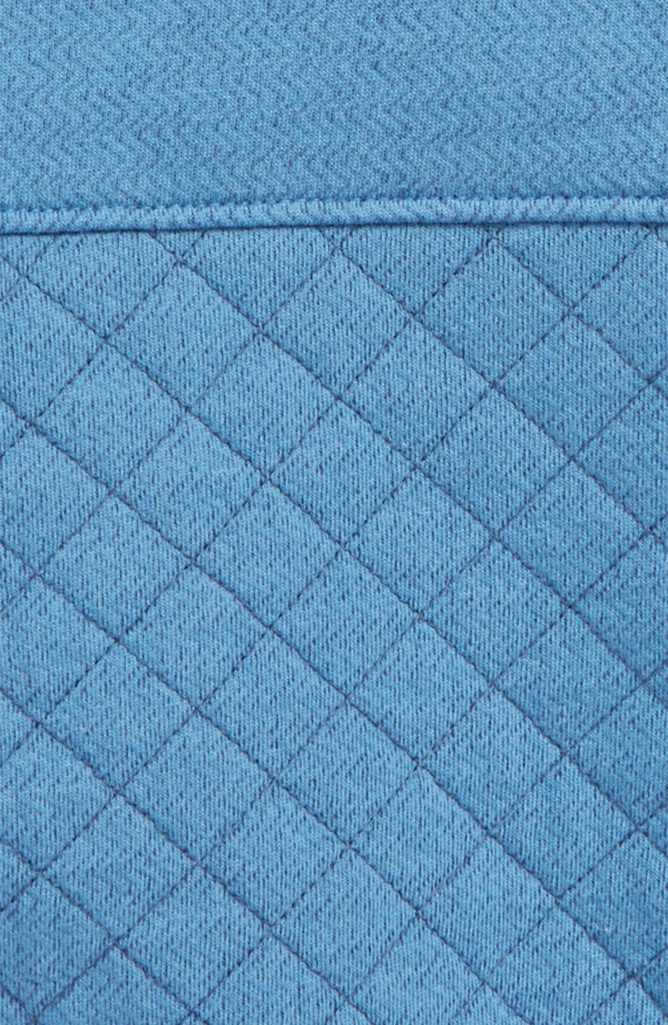 Quilted Pullover,                             Alternate thumbnail 2, color,                             Blue Chambray