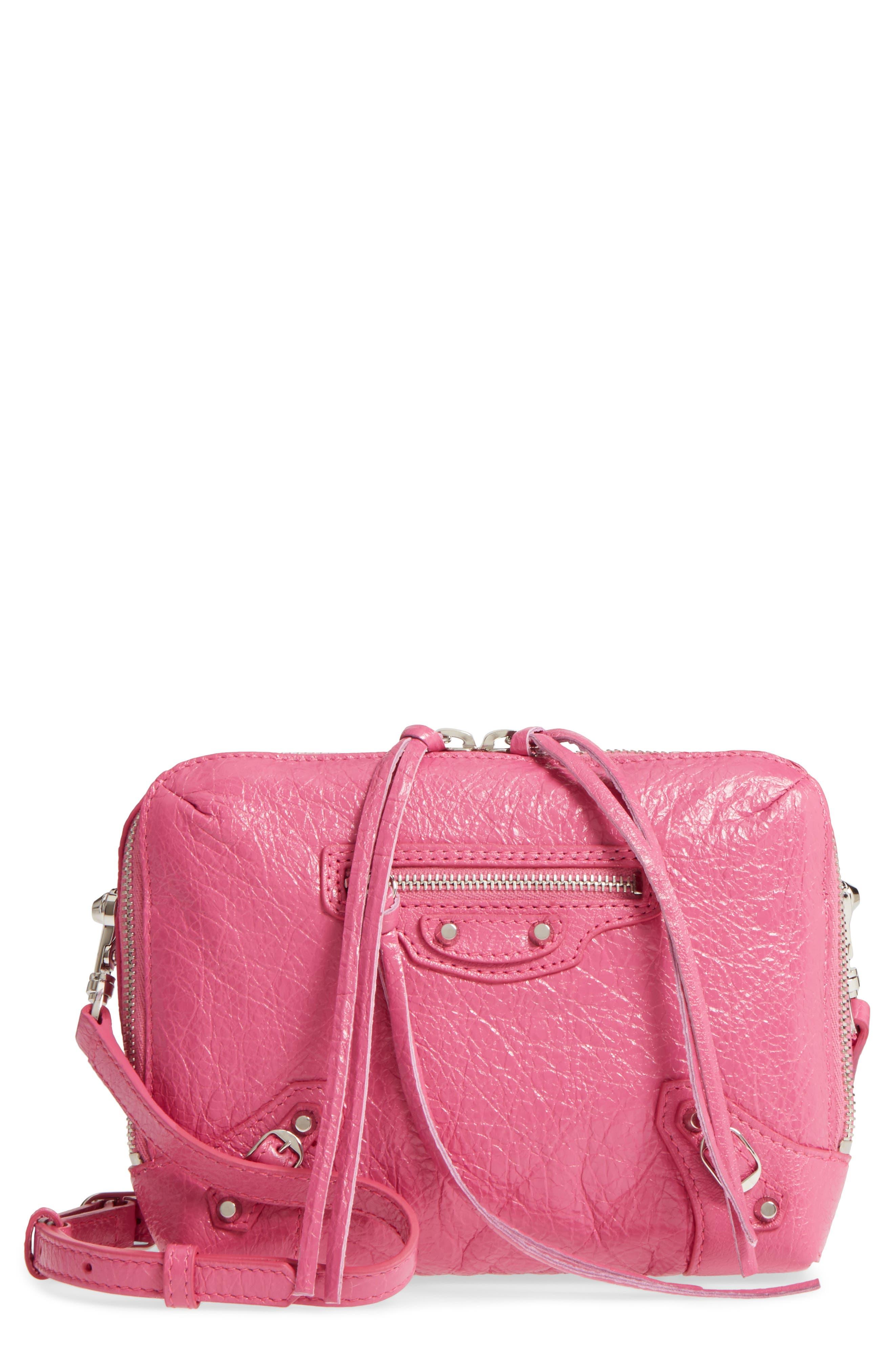 Balenciaga Extra Small Classic Reporter Leather Shoulder Bag