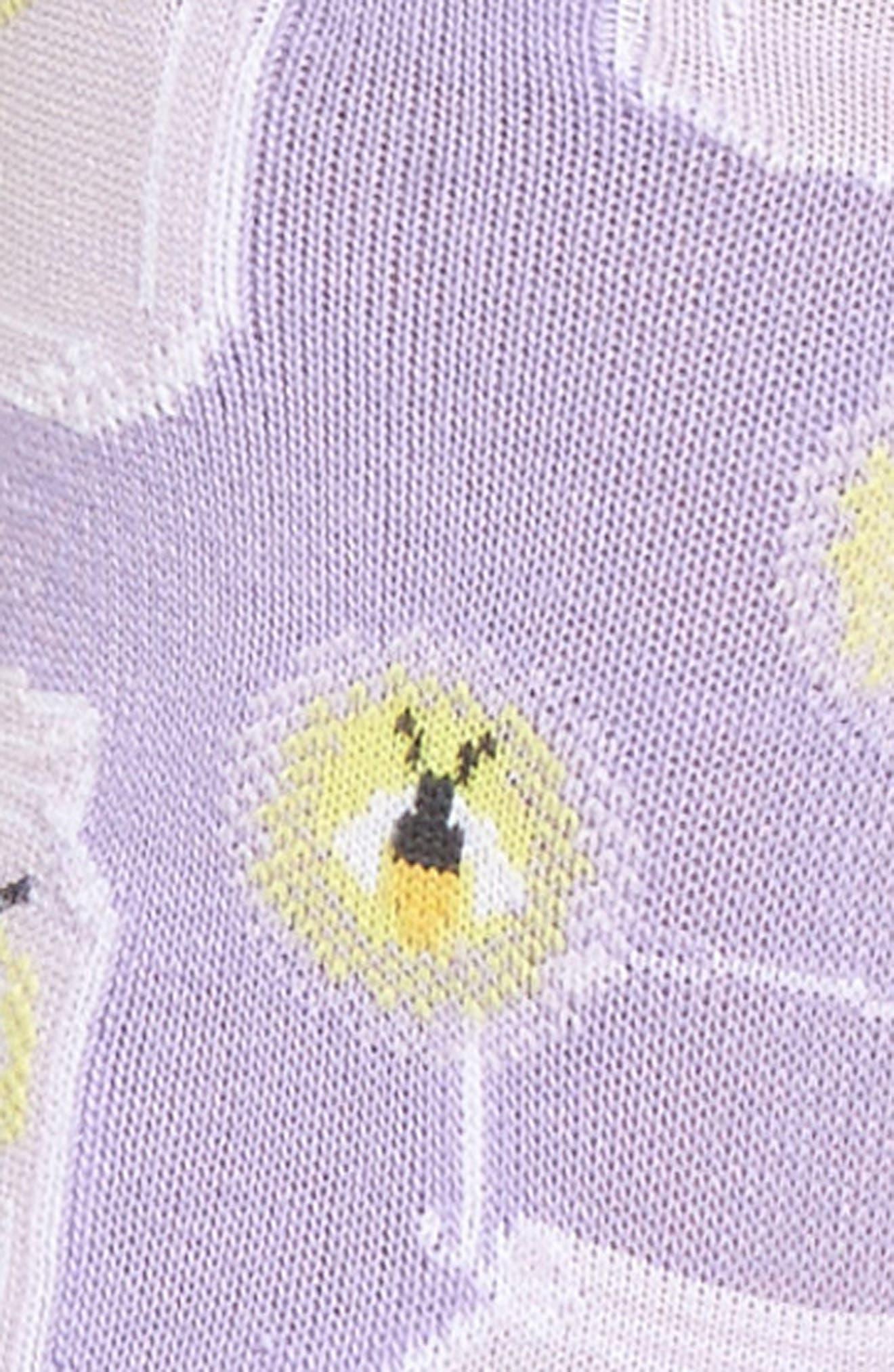 Fireflies Crew Socks,                             Alternate thumbnail 3, color,                             Lavender